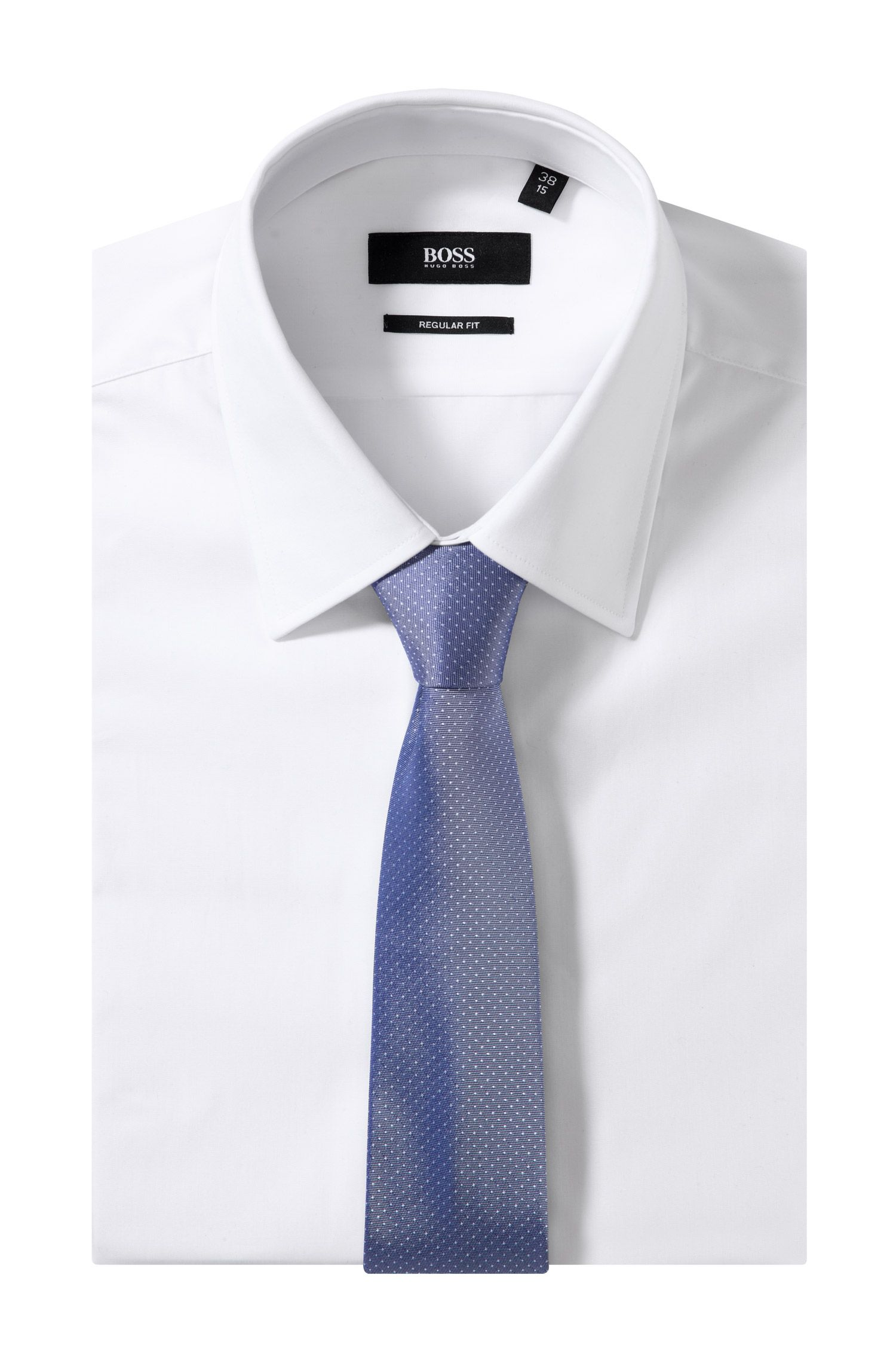 Cravate à carreaux, Tie 6 cm