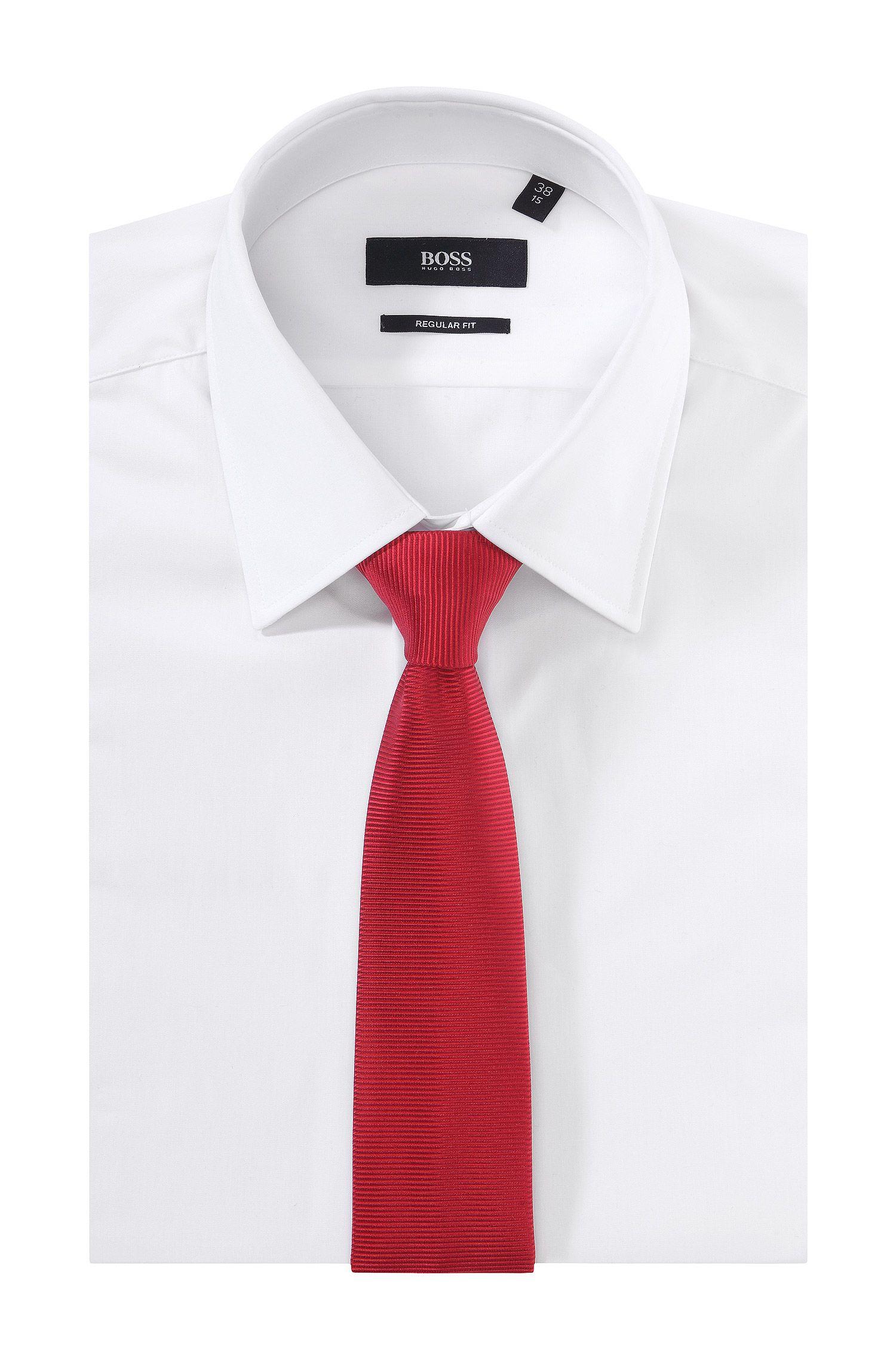 Gestreepte stropdas ´Tie 6 cm` van zuivere zijde