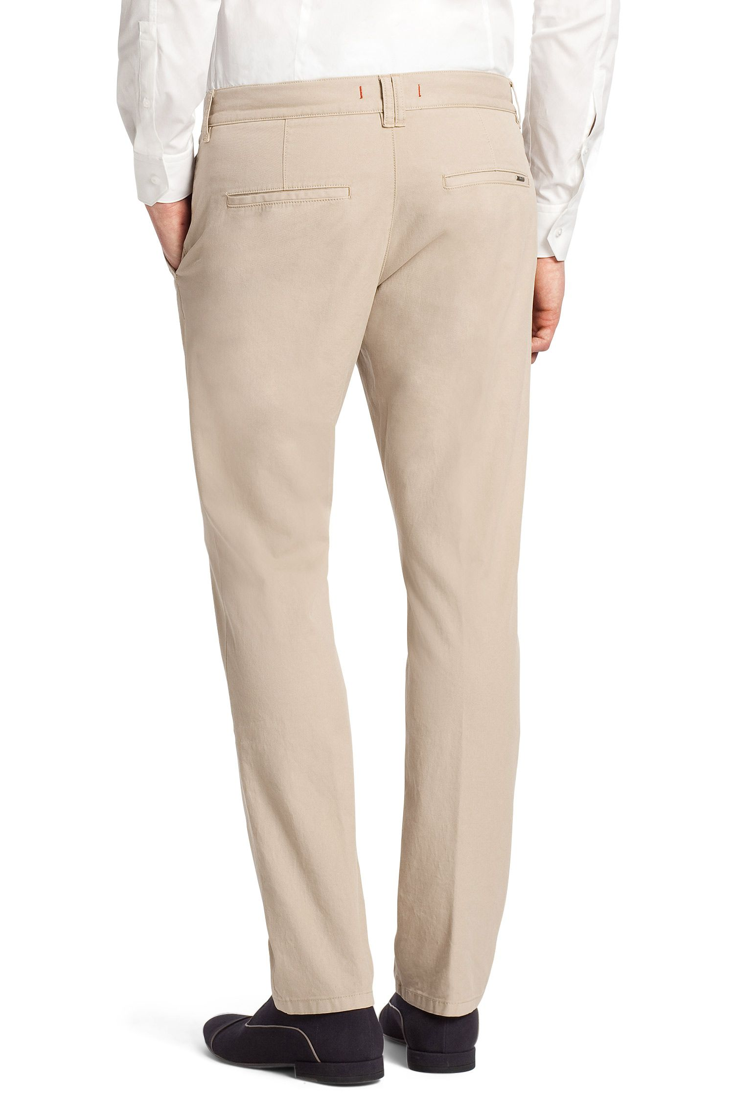 Pantalon chino en coton stretch, HUGO 15