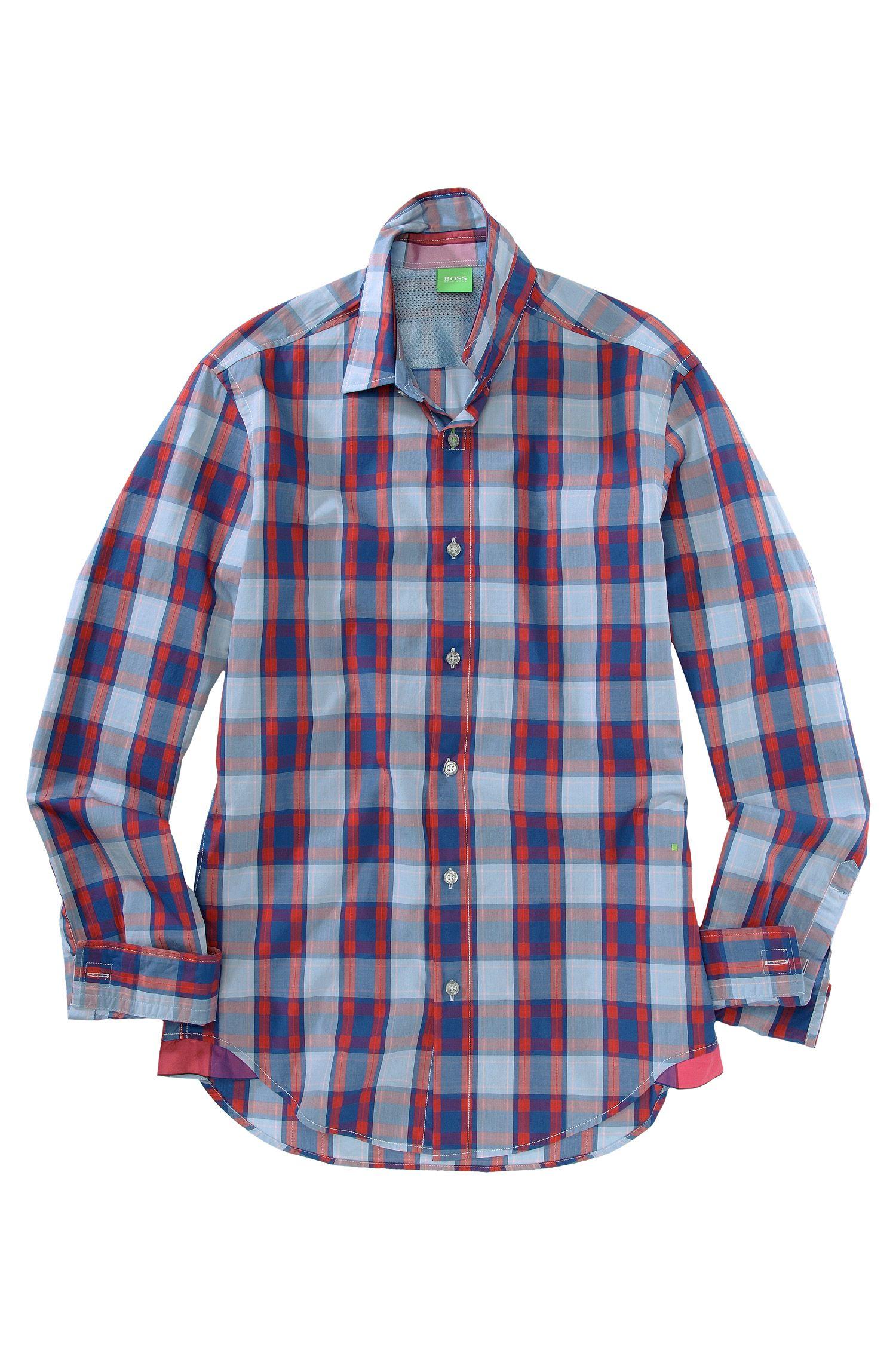 Freizeit-Hemd ´Bugsville` mit Kentkragen