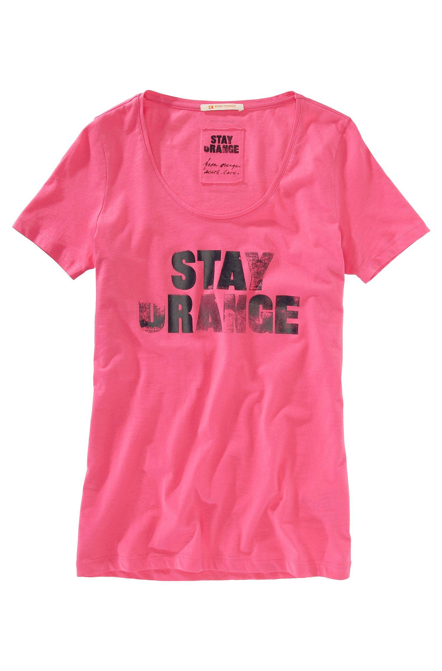 T-Shirt ´Teasi` mit Rundhals-Ausschnitt