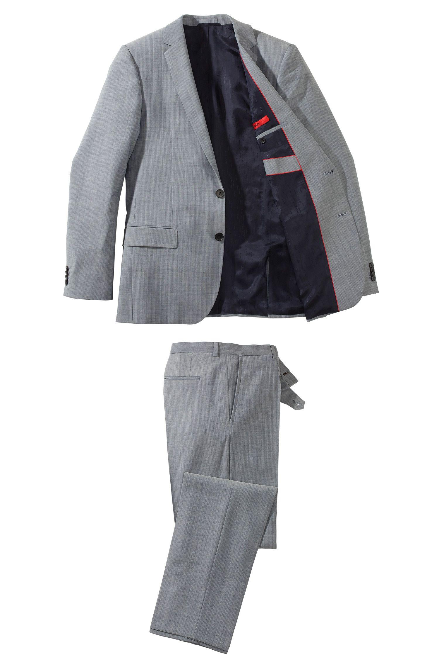 Modern slim fit kostuum ´Amaro/Heise` van HUGO