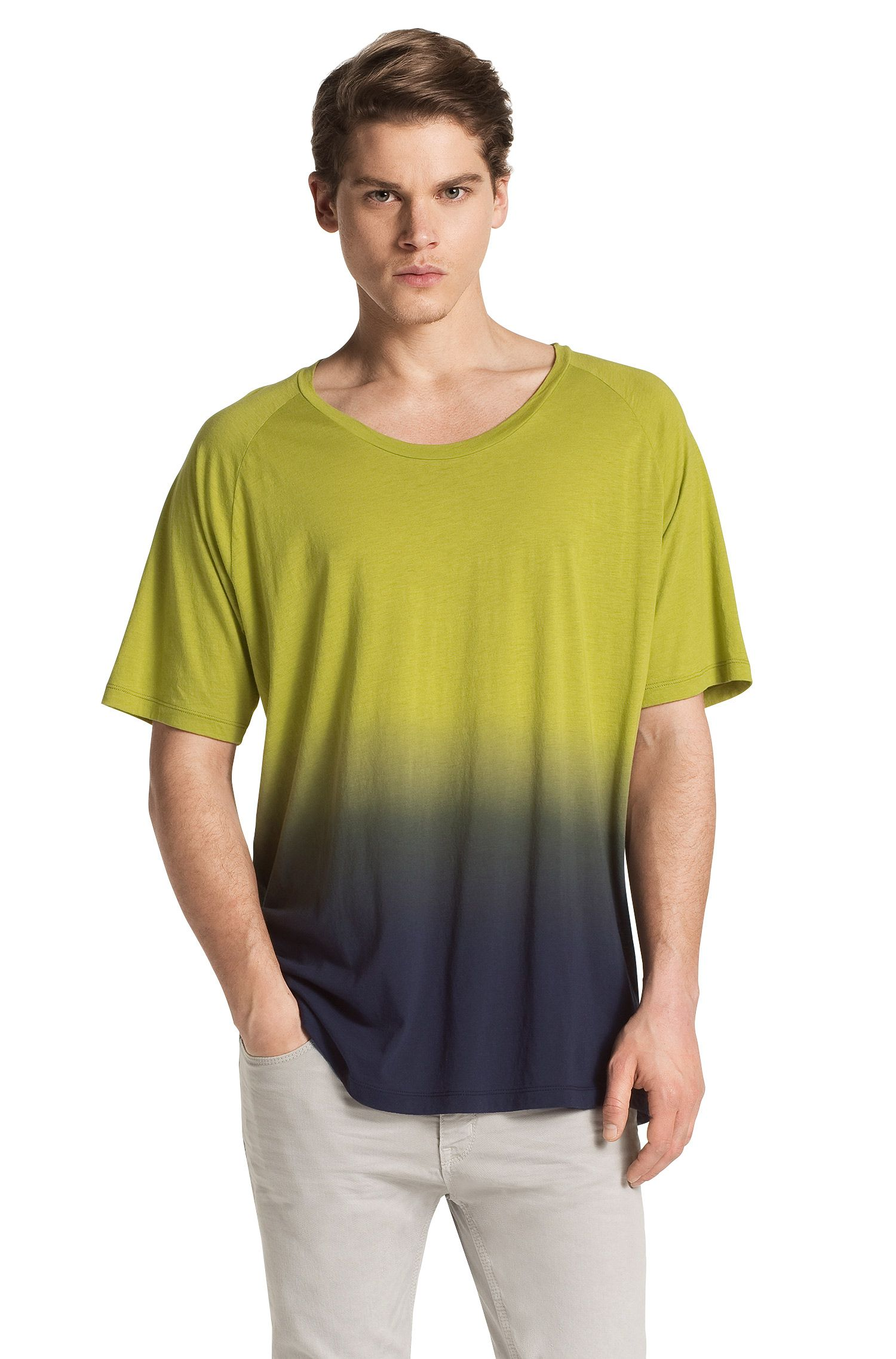 T-shirt ´Daler` met ronde hals