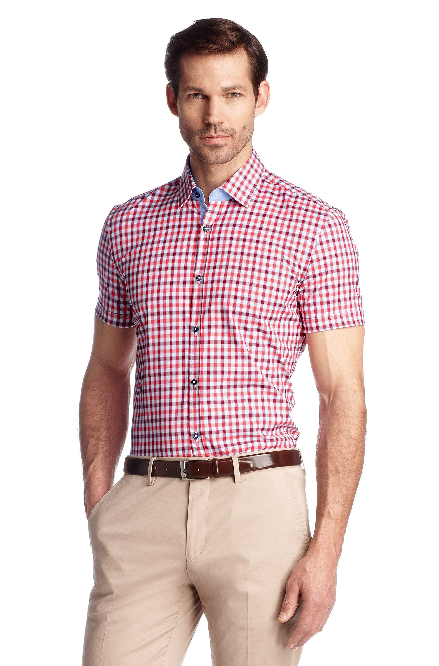 Slim-Fit Business-Hemd ´Juris` mit Kentkragen