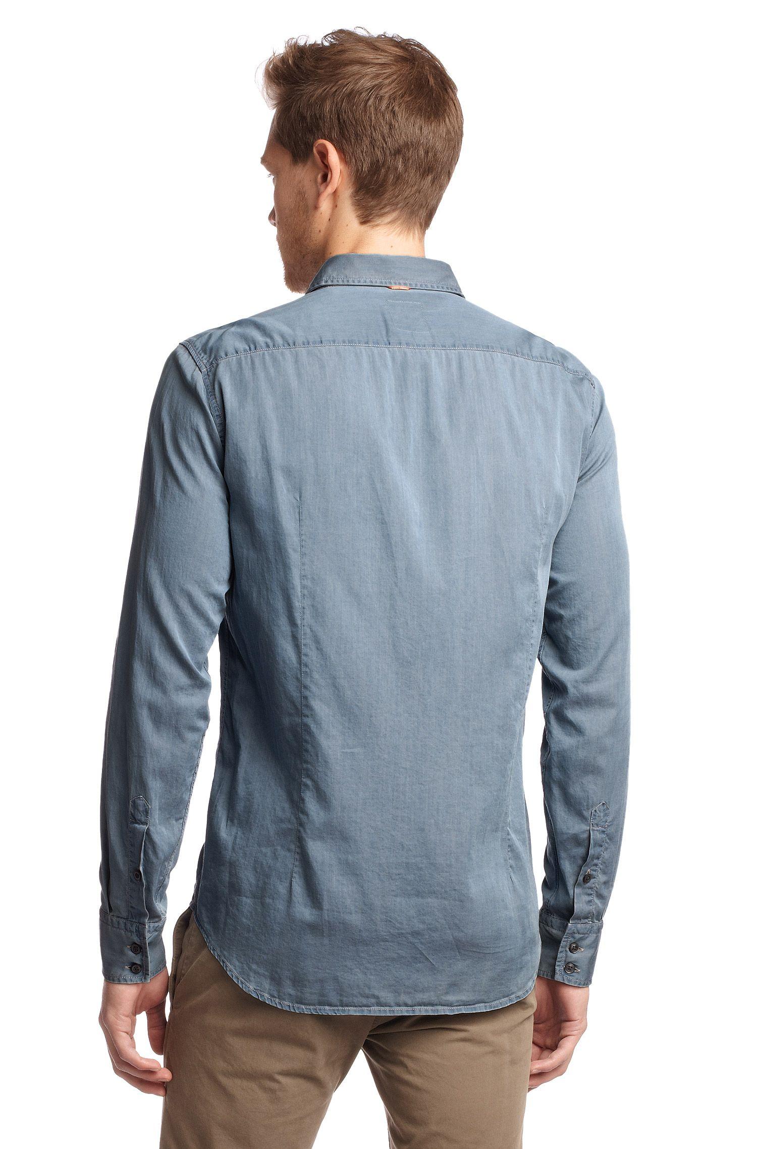 Freizeit-Hemd ´Cieloebu` mit Kentkragen