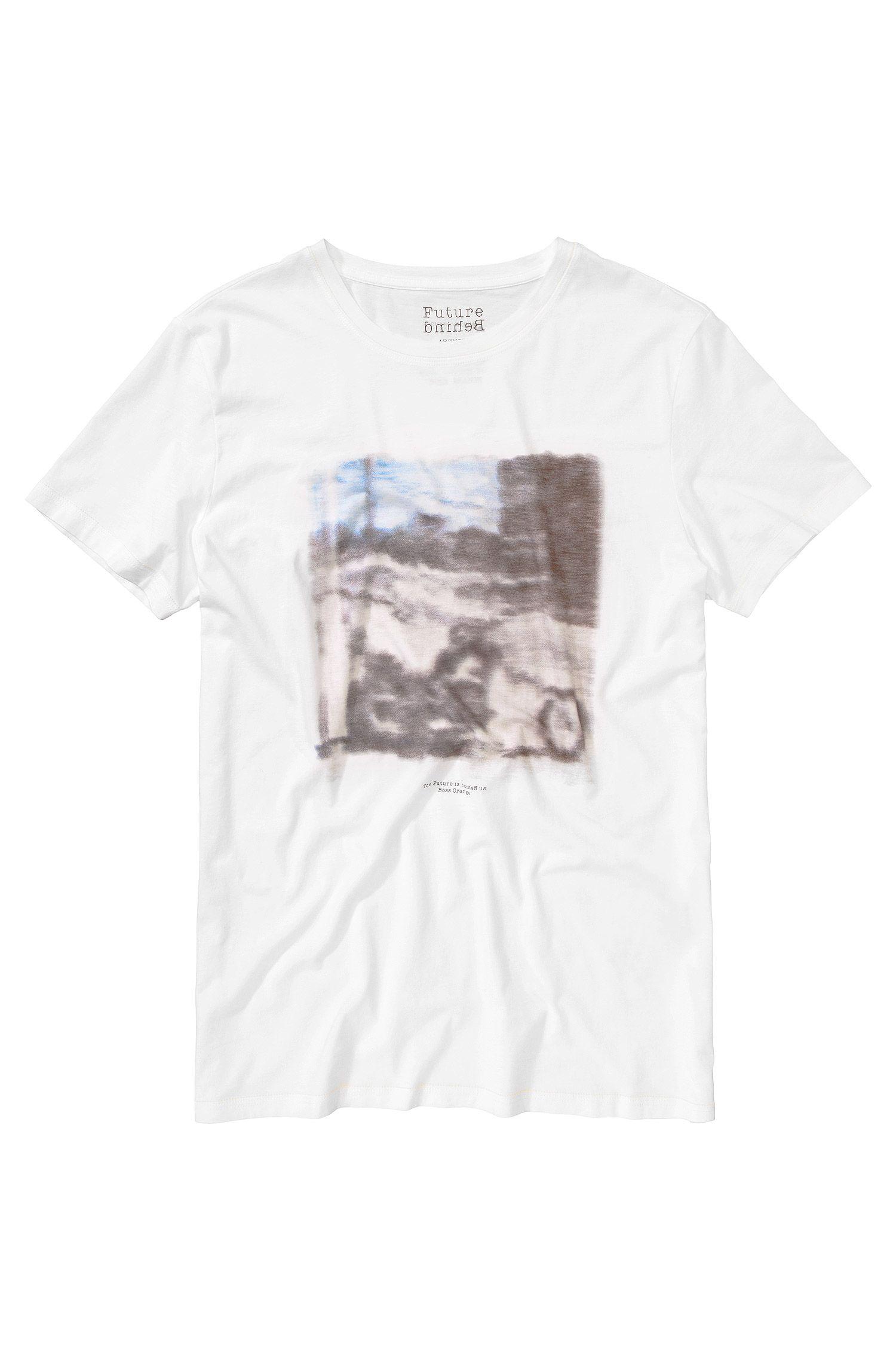 T-Shirt ´Tribute2` mit Rundhals-Ausschnitt