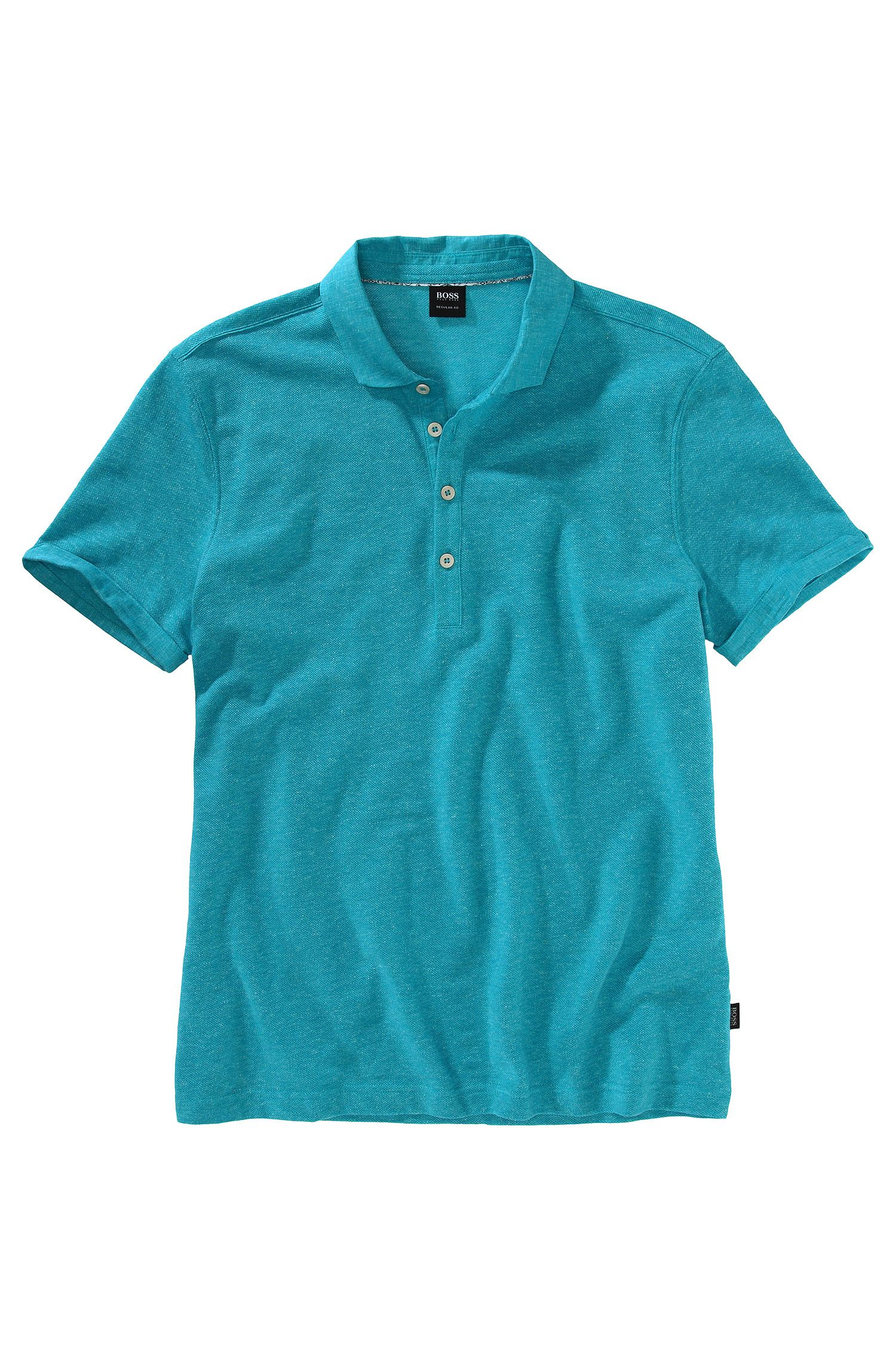 Regular fit piqué poloshirt ´Bellano 10`
