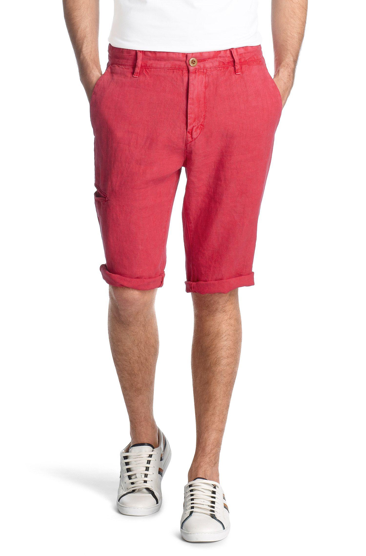 Bermuda ´Stimo-Shorts-D` aus reinem Leinen