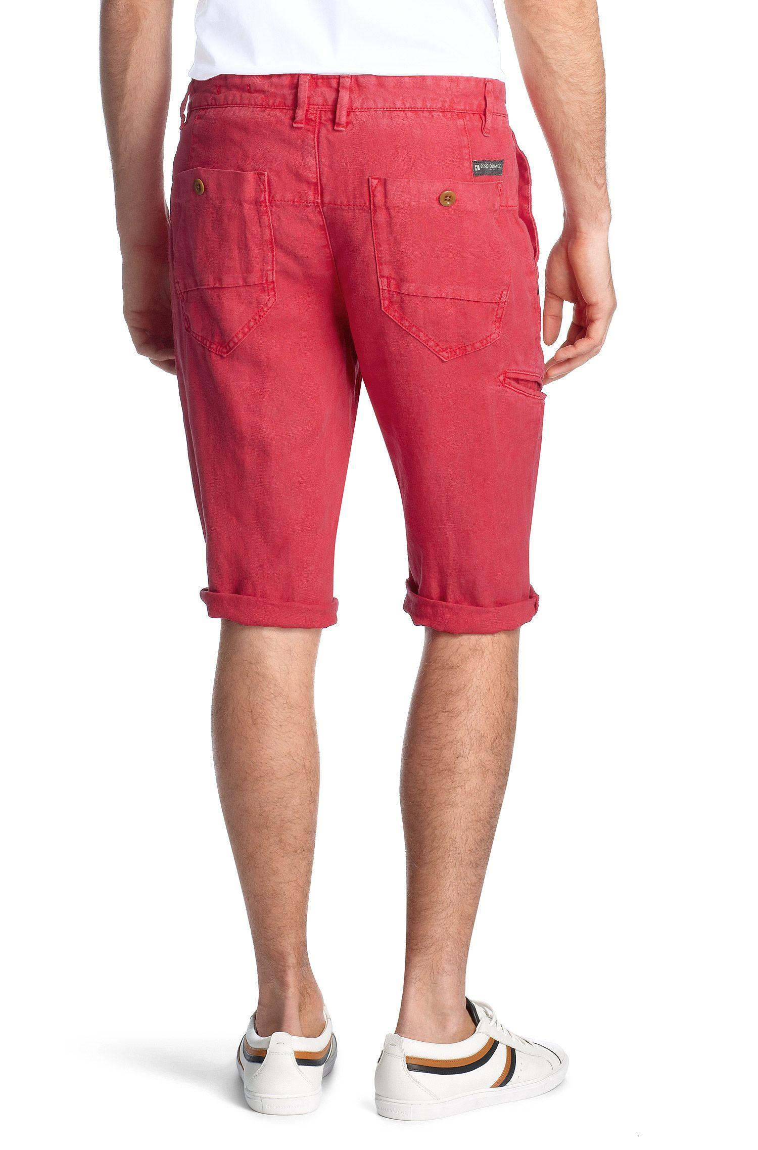 Bermuda en pur lin, Stimo-Shorts-D