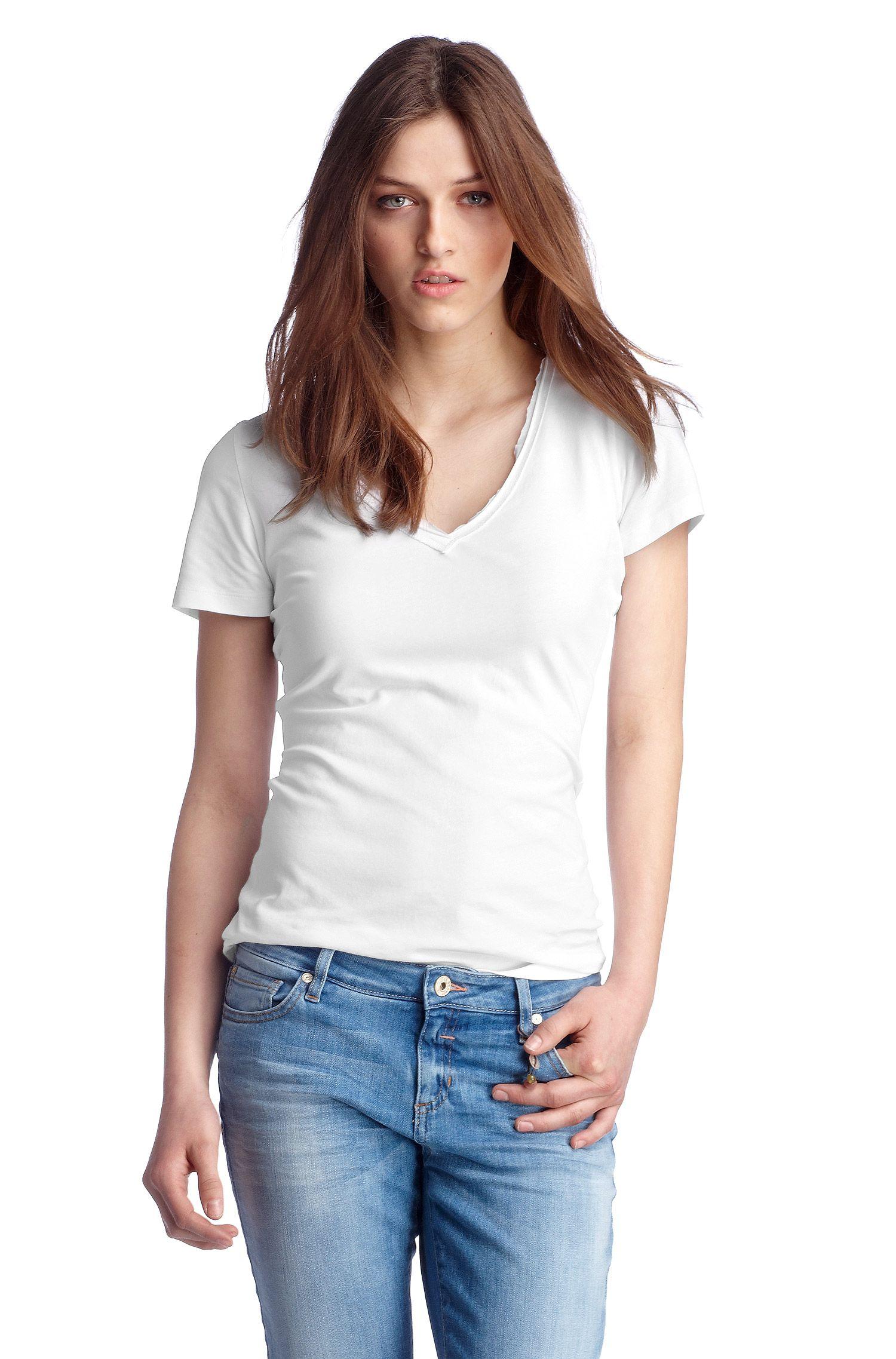 T-Shirt ´Vienis` aus Baumwoll-Mix