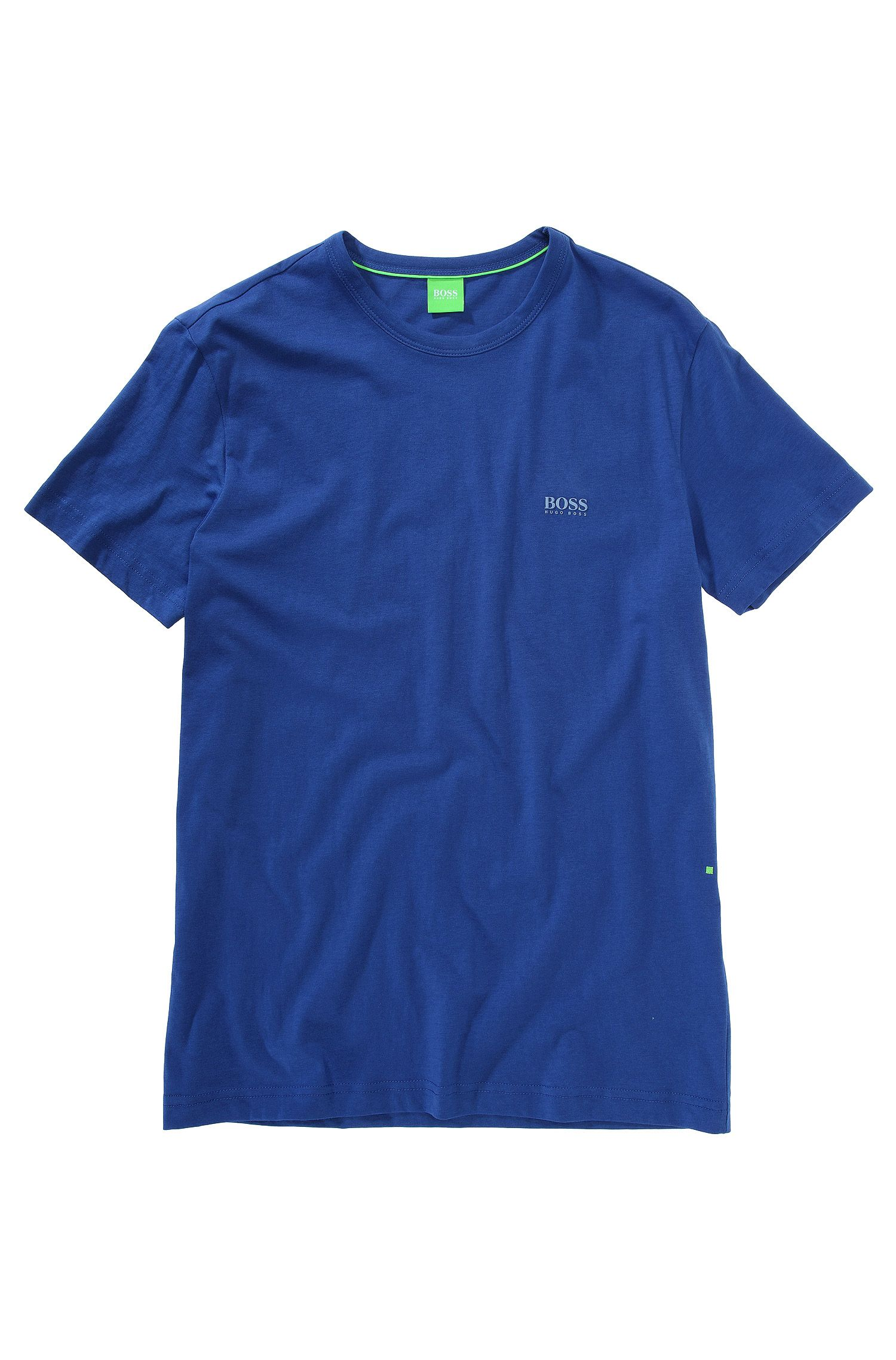 Regular-fit T-shirt with contrast detail