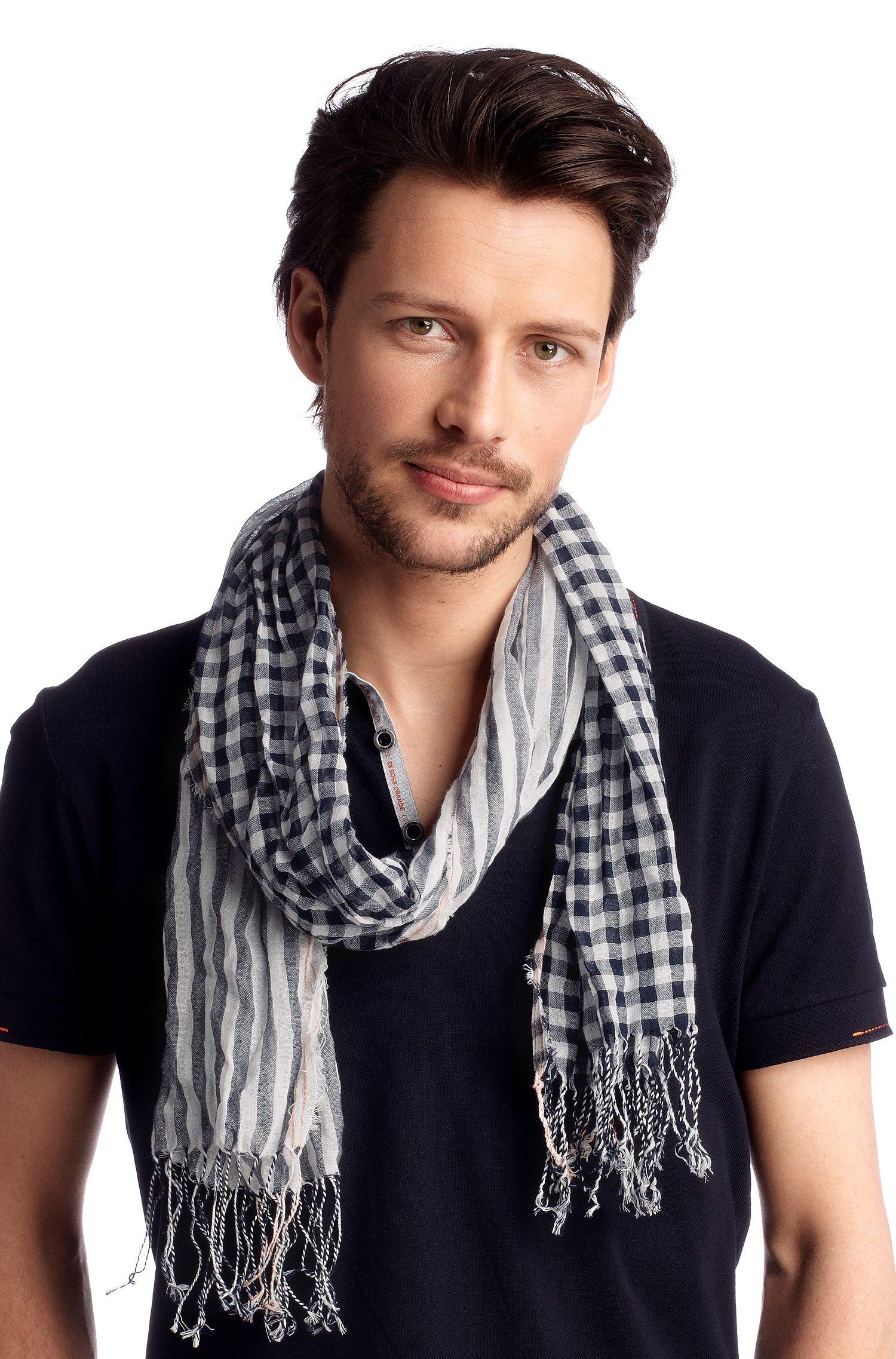 Schal ´Nart` aus reiner Baumwolle