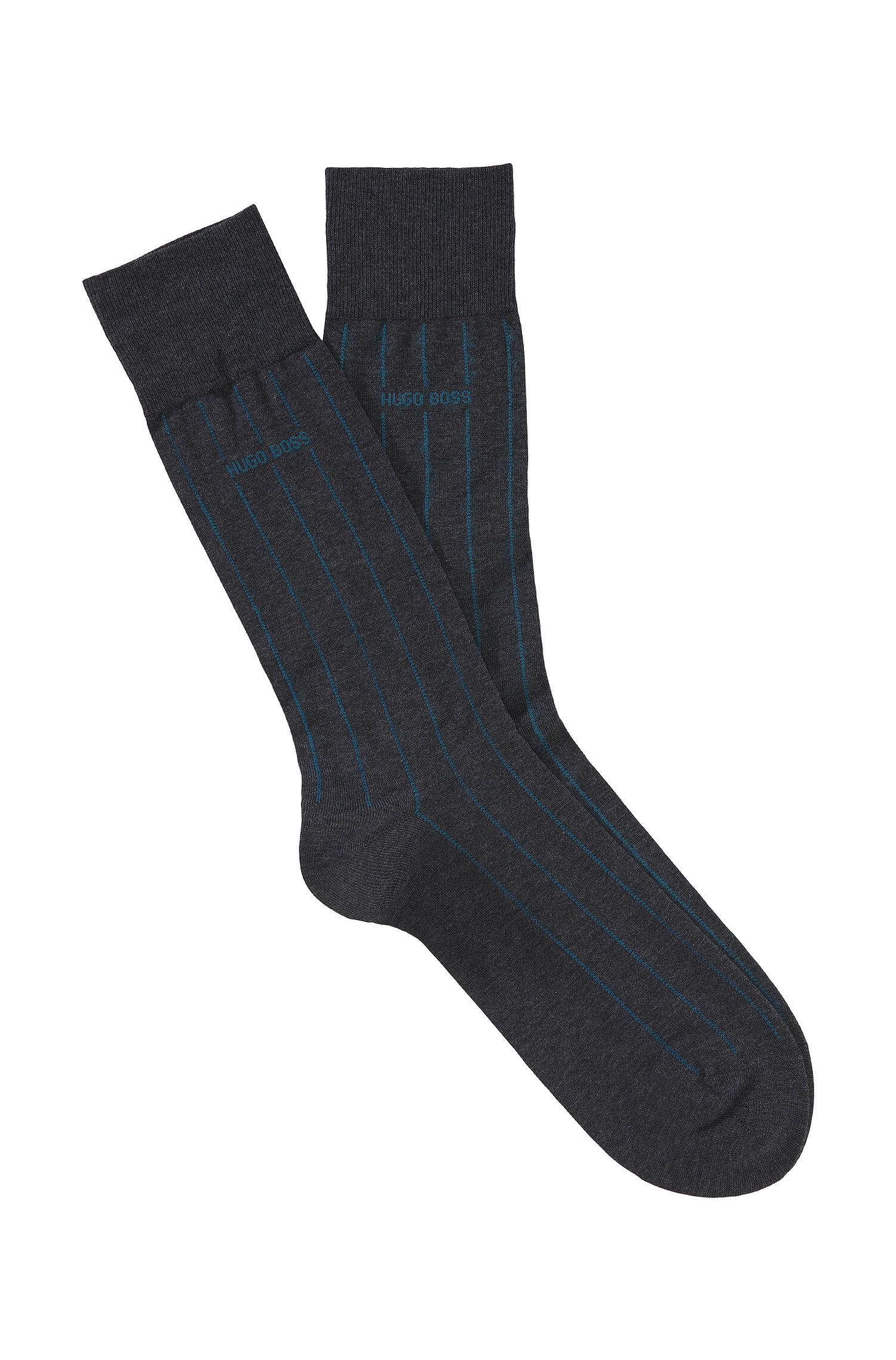 Socken ´George Stripes Col.` aus Baumwoll-Mix