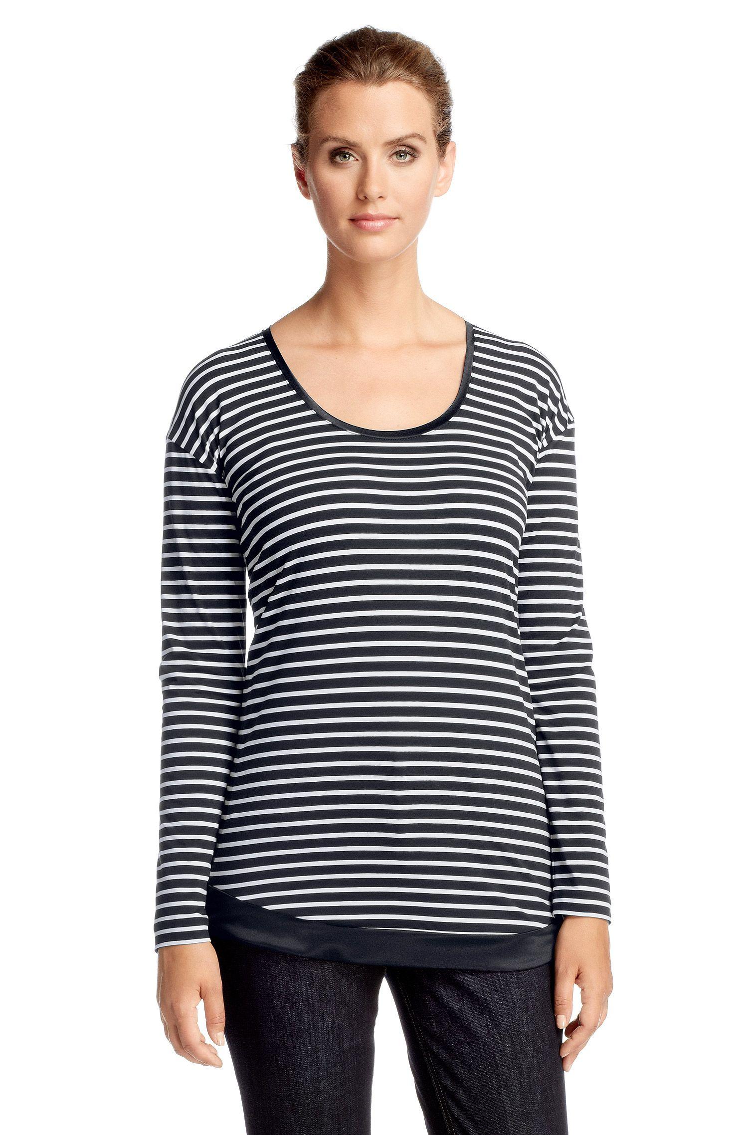 Shirt ´E4817` aus Baumwoll-Mix