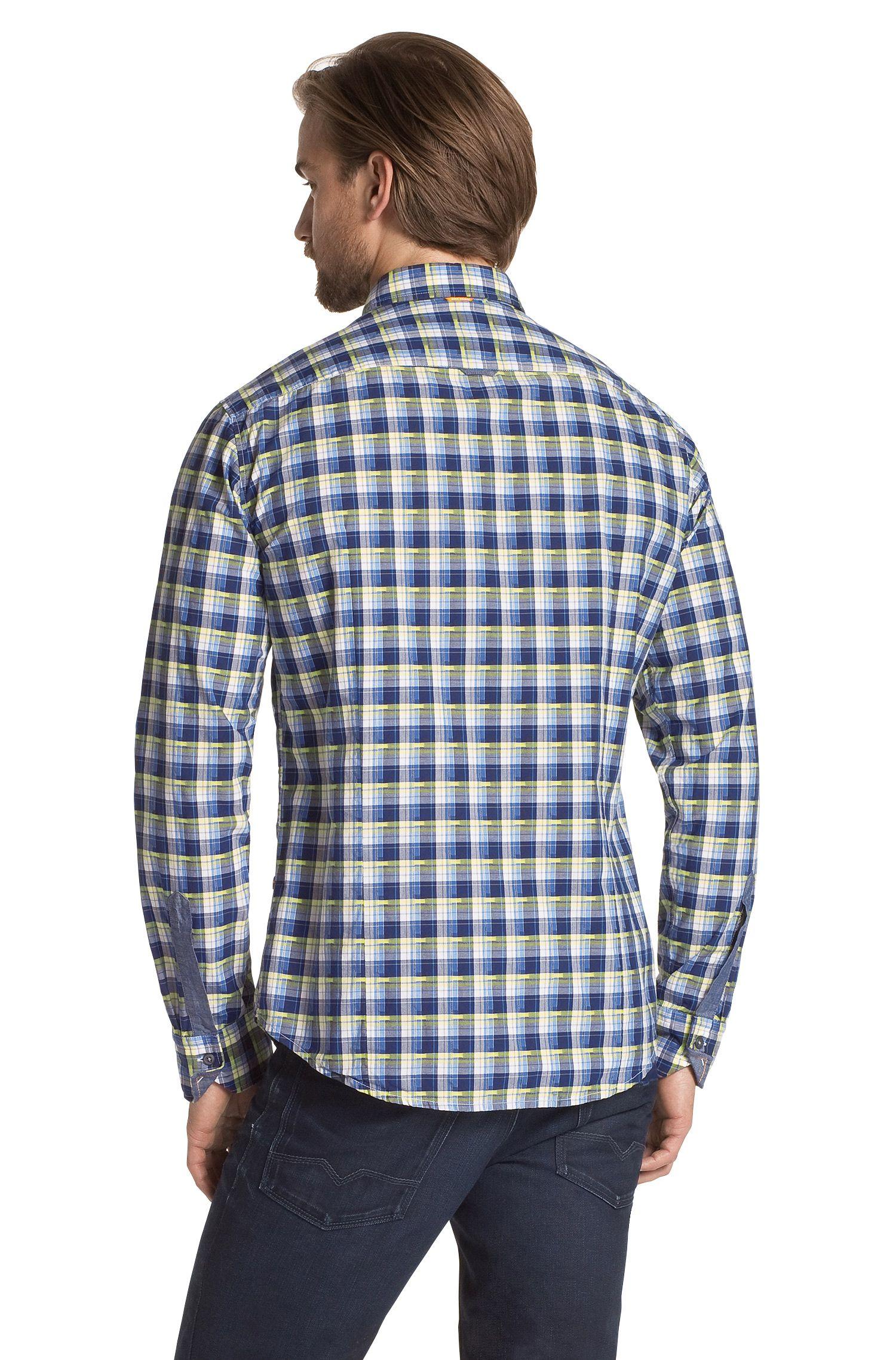 Slim-Fit Freizeit-Hemd ´CliffE` mit Karomuster