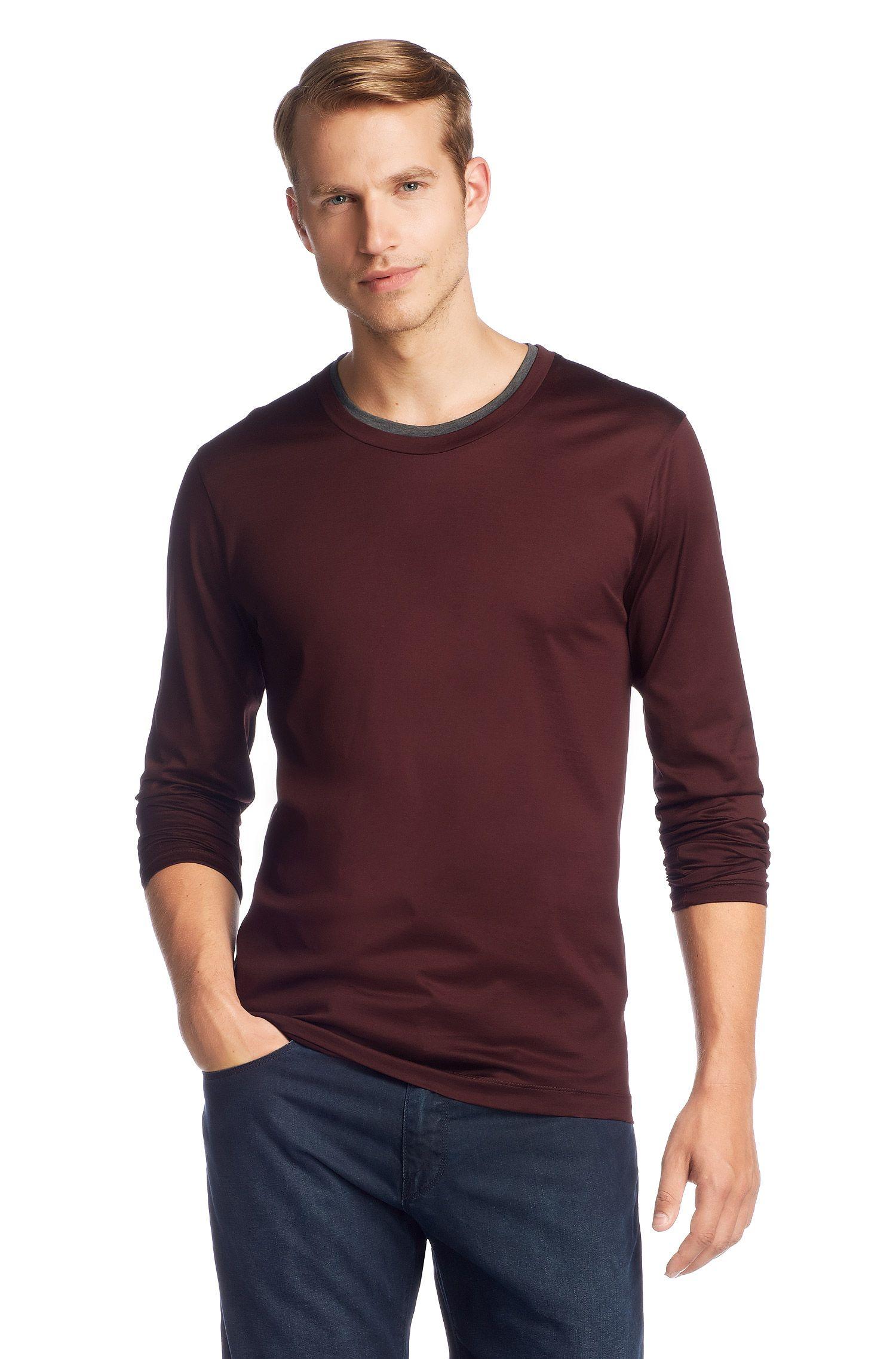 T-shirt à manches longues en coton, Sorso 02