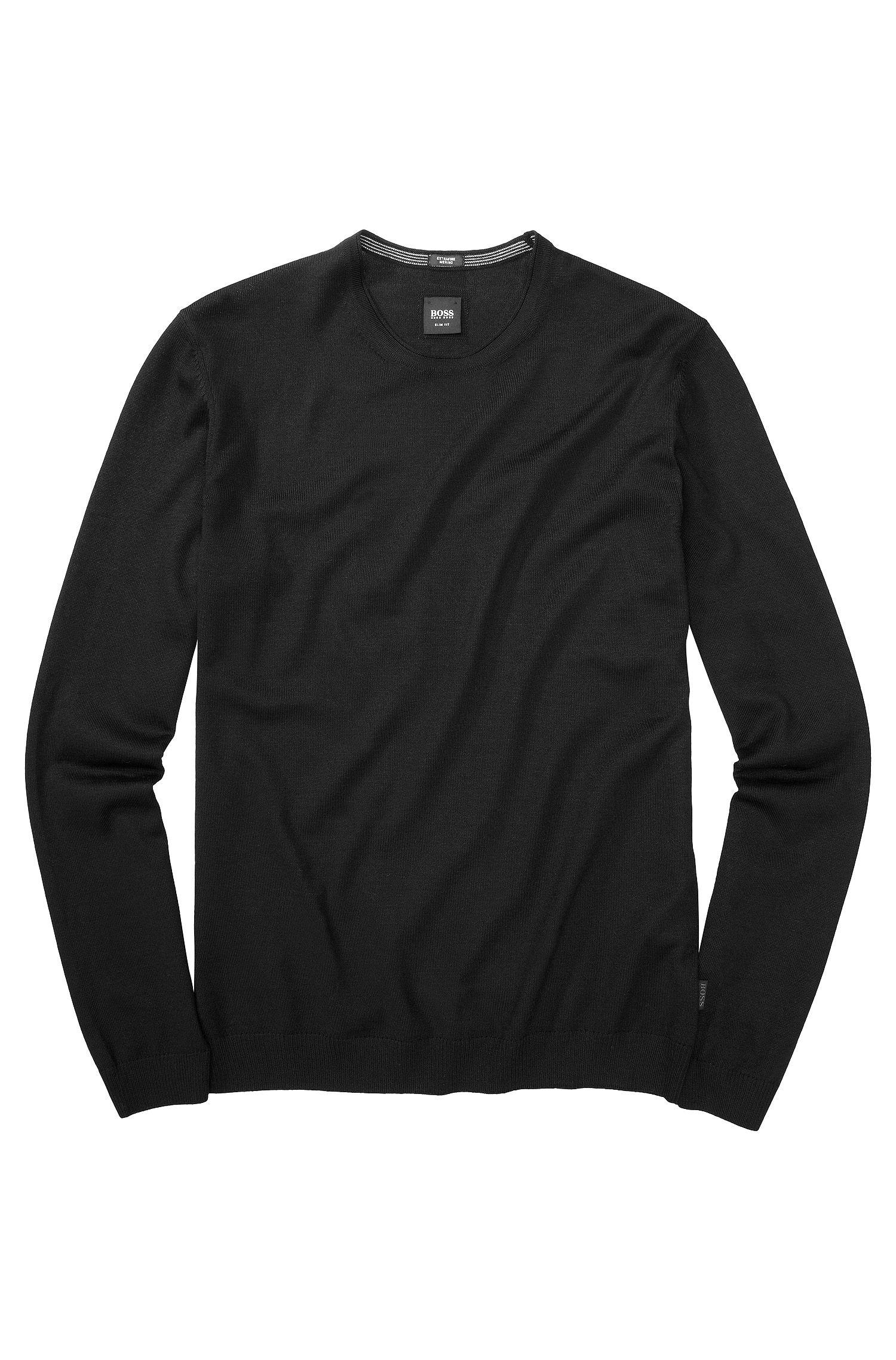 Pullover ´Baker-B` aus Schurwolle
