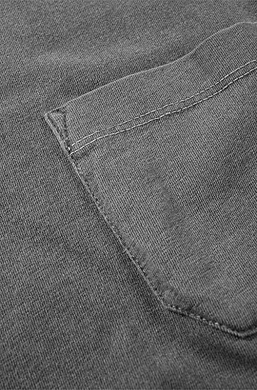 T-Shirt ´Taxes` mit Rundhals-Ausschnitt, Schwarz