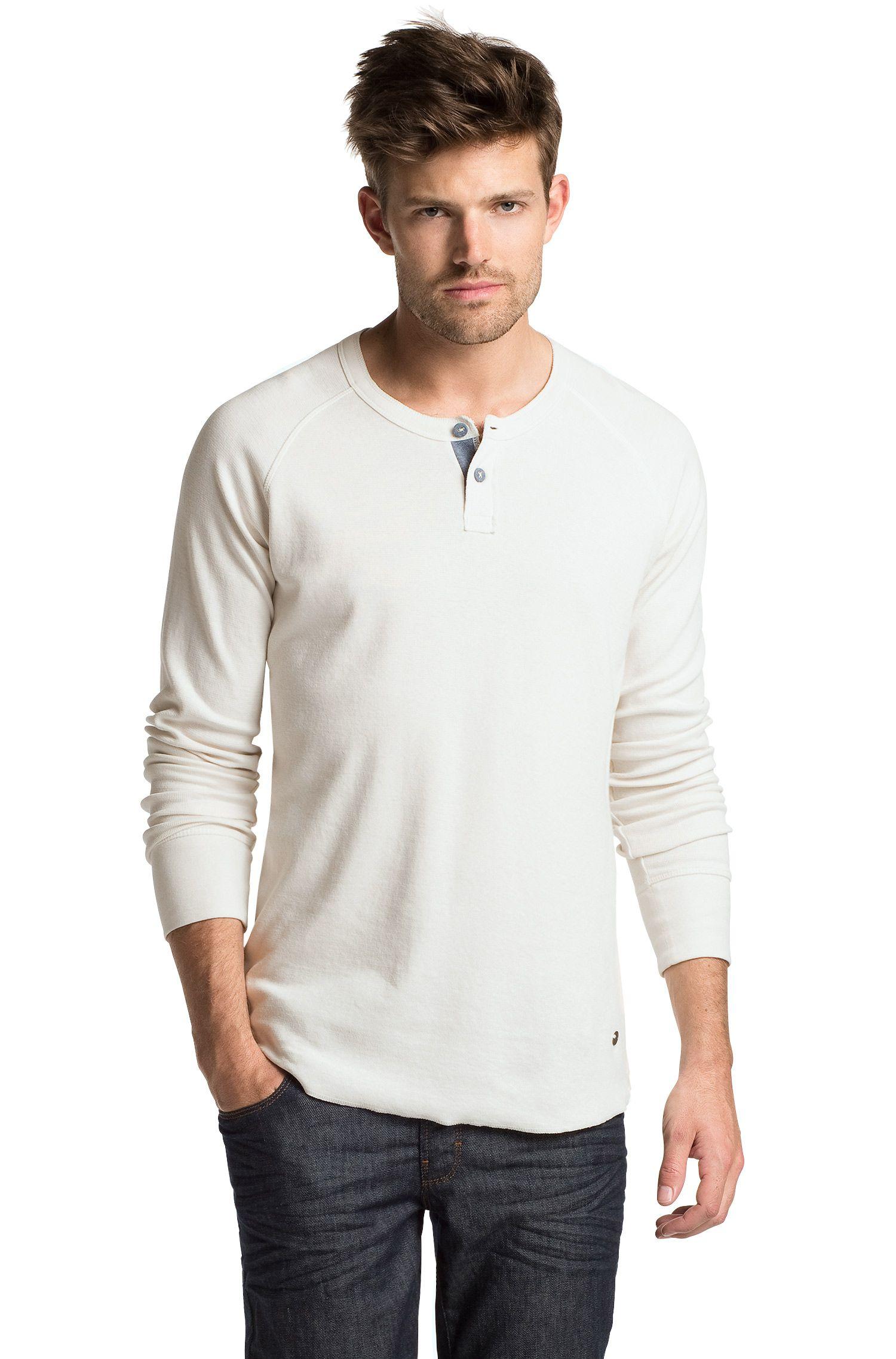 T-shirt en coton et élasthanne, Trucker 1