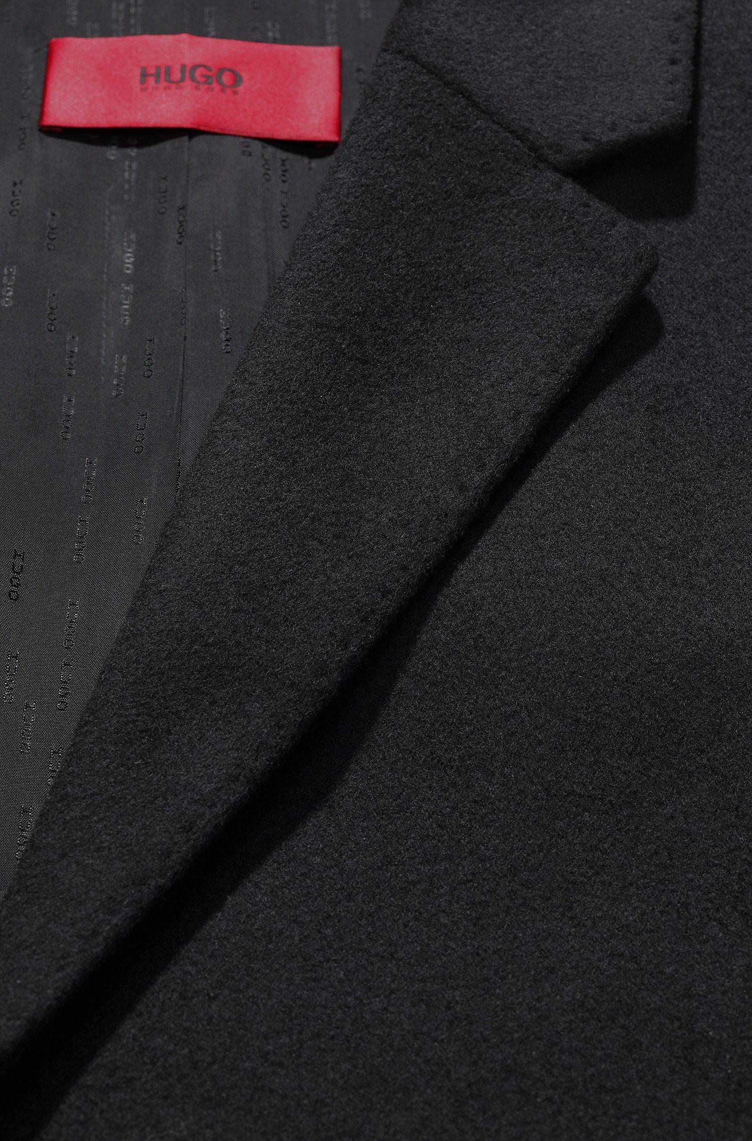 Paletot 'Migor' van een scheerwolmix met kasjmier