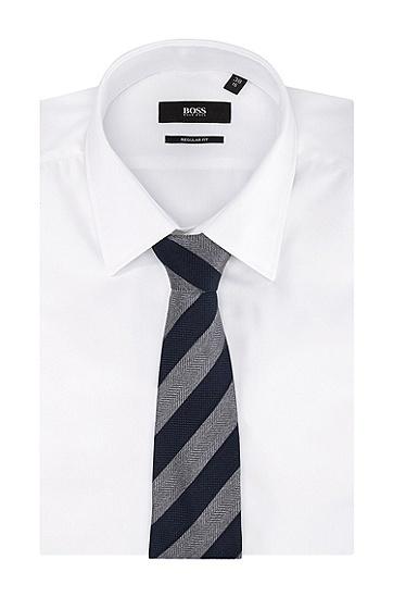 Krawatte ´Tie 7,5 cm` aus Seide, Dunkelblau