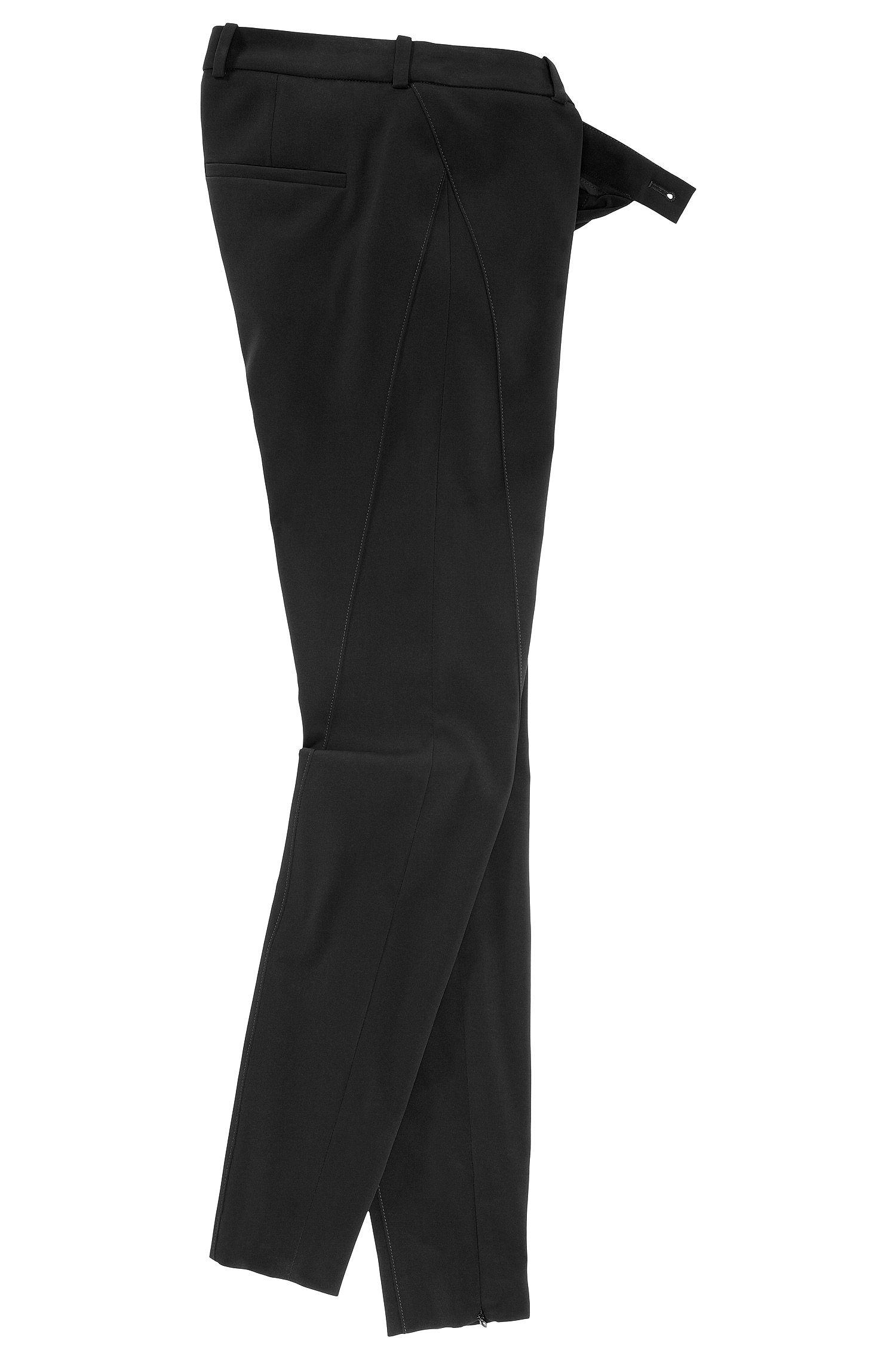 Pantalon Slim Fit en polyester mélangé, Honesta