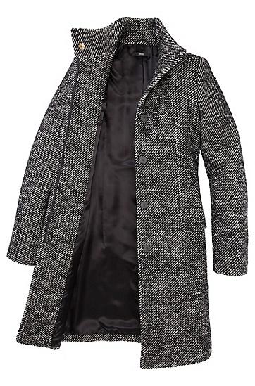 Manteau en laine vierge mélangée, Celira,