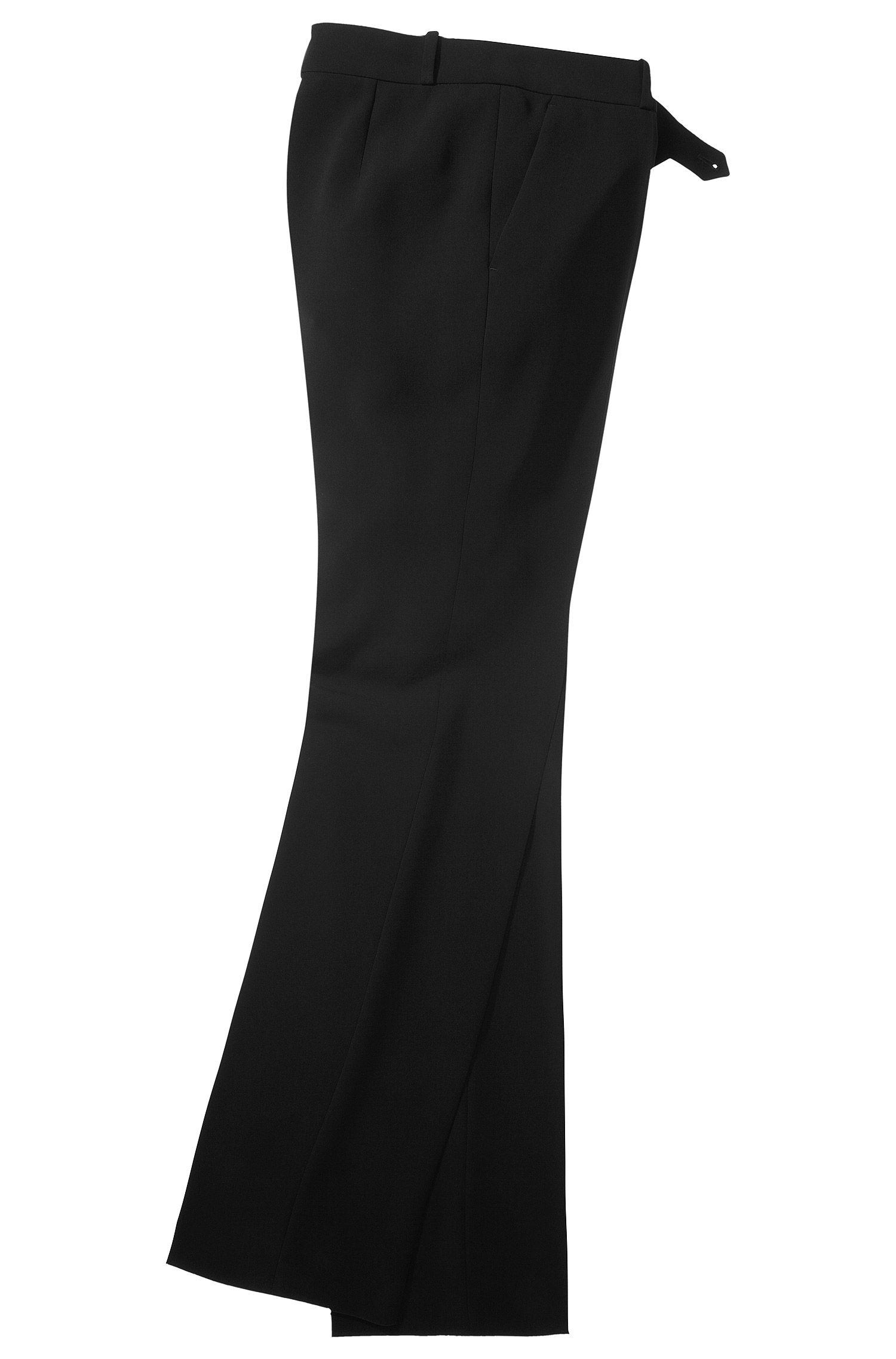 Regular fit broek met scherpe vouwen 'Tulira'