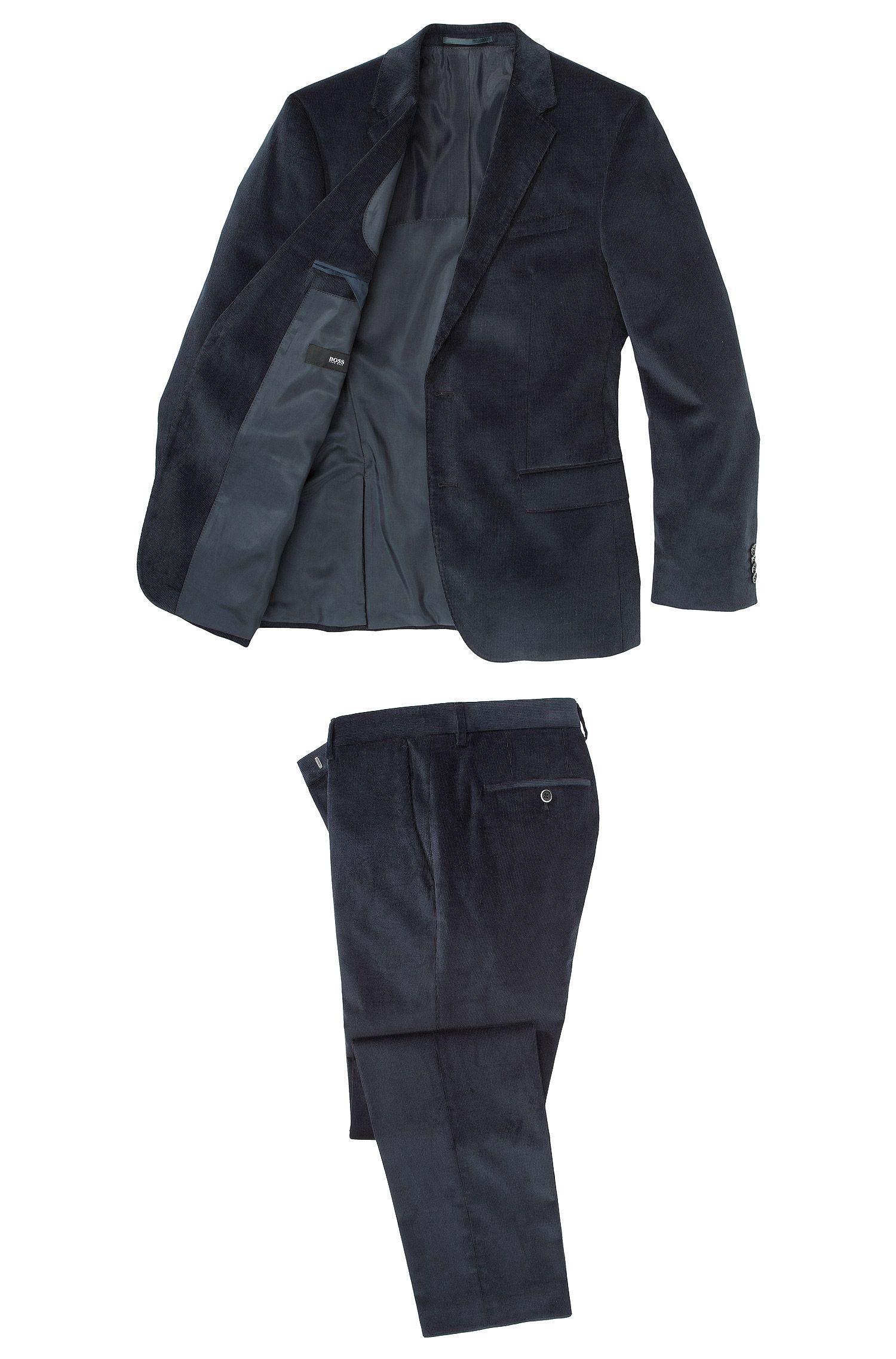 Slim-Fit Anzug ´Hedge2/Gense1` aus Cord