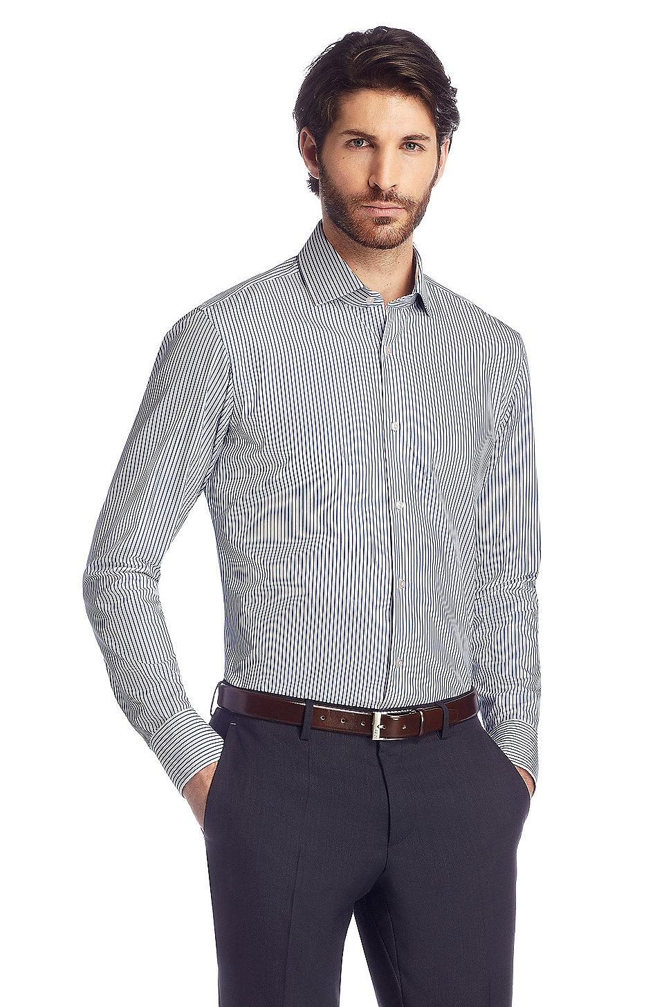 chemise regular fit gordon manches extra longues. Black Bedroom Furniture Sets. Home Design Ideas