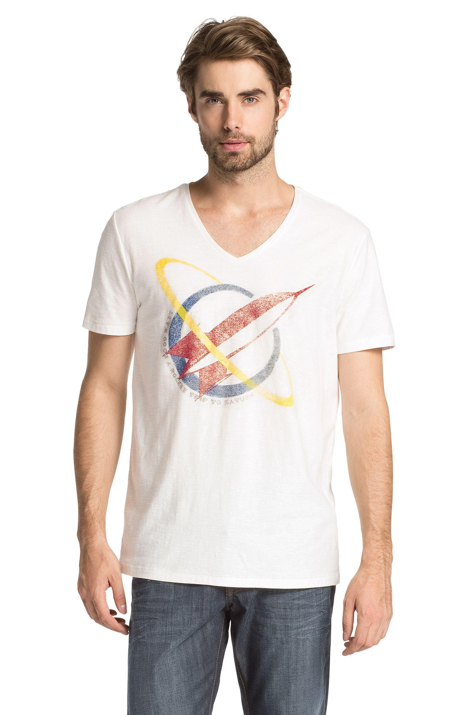T-shirt à imprimé fusée, Taury