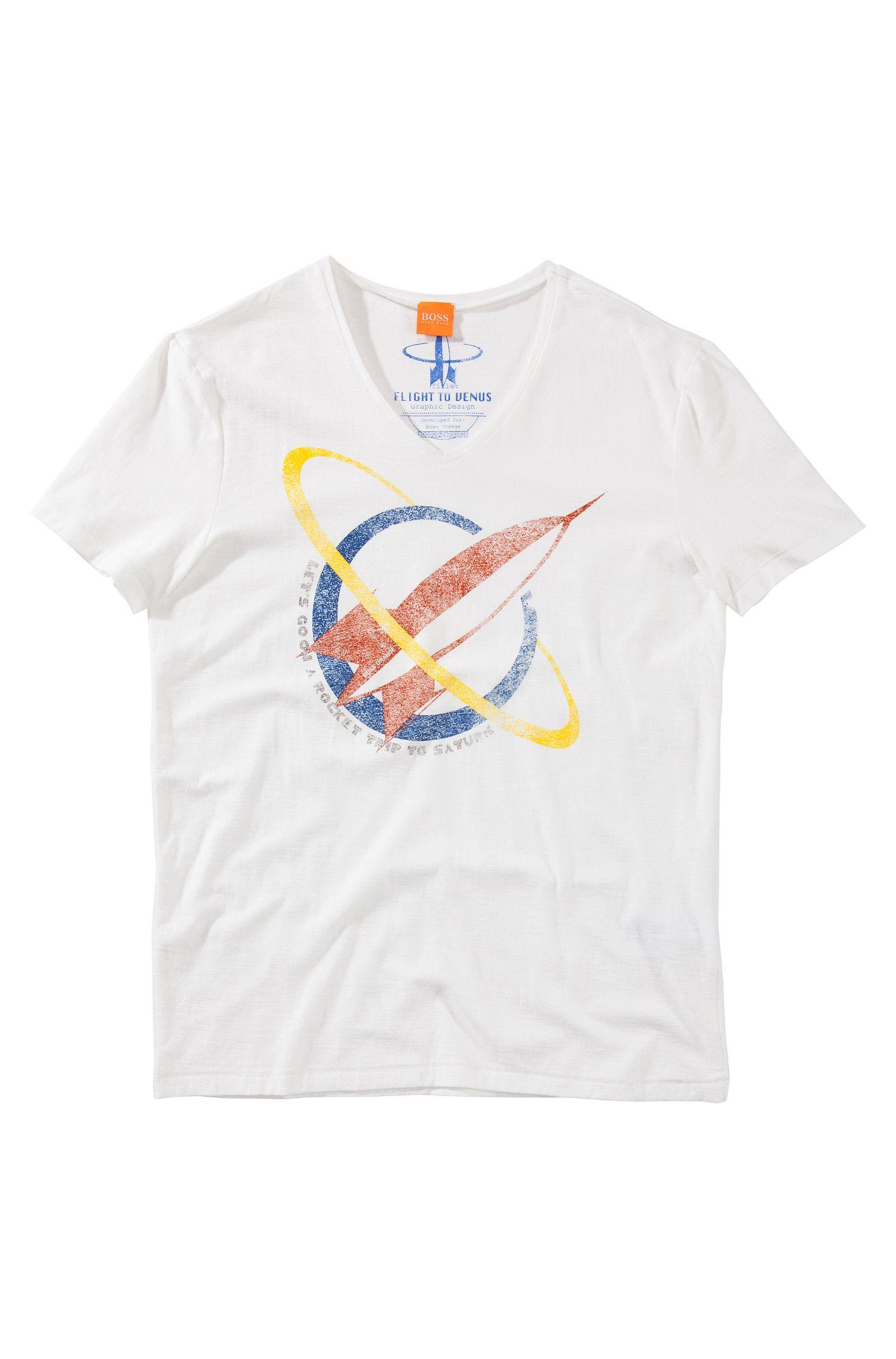 T-Shirt ´Taury` mit Rocket-Print