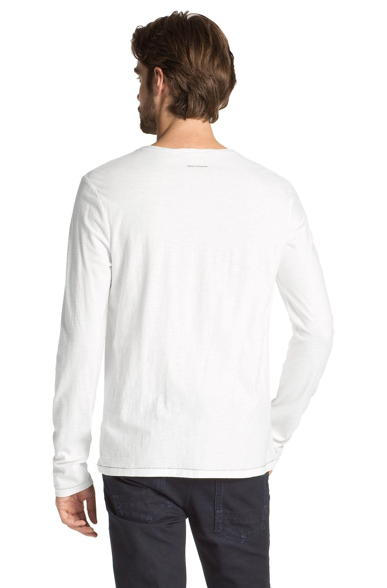 T-shirt manches longues à encolure ronde, Tive