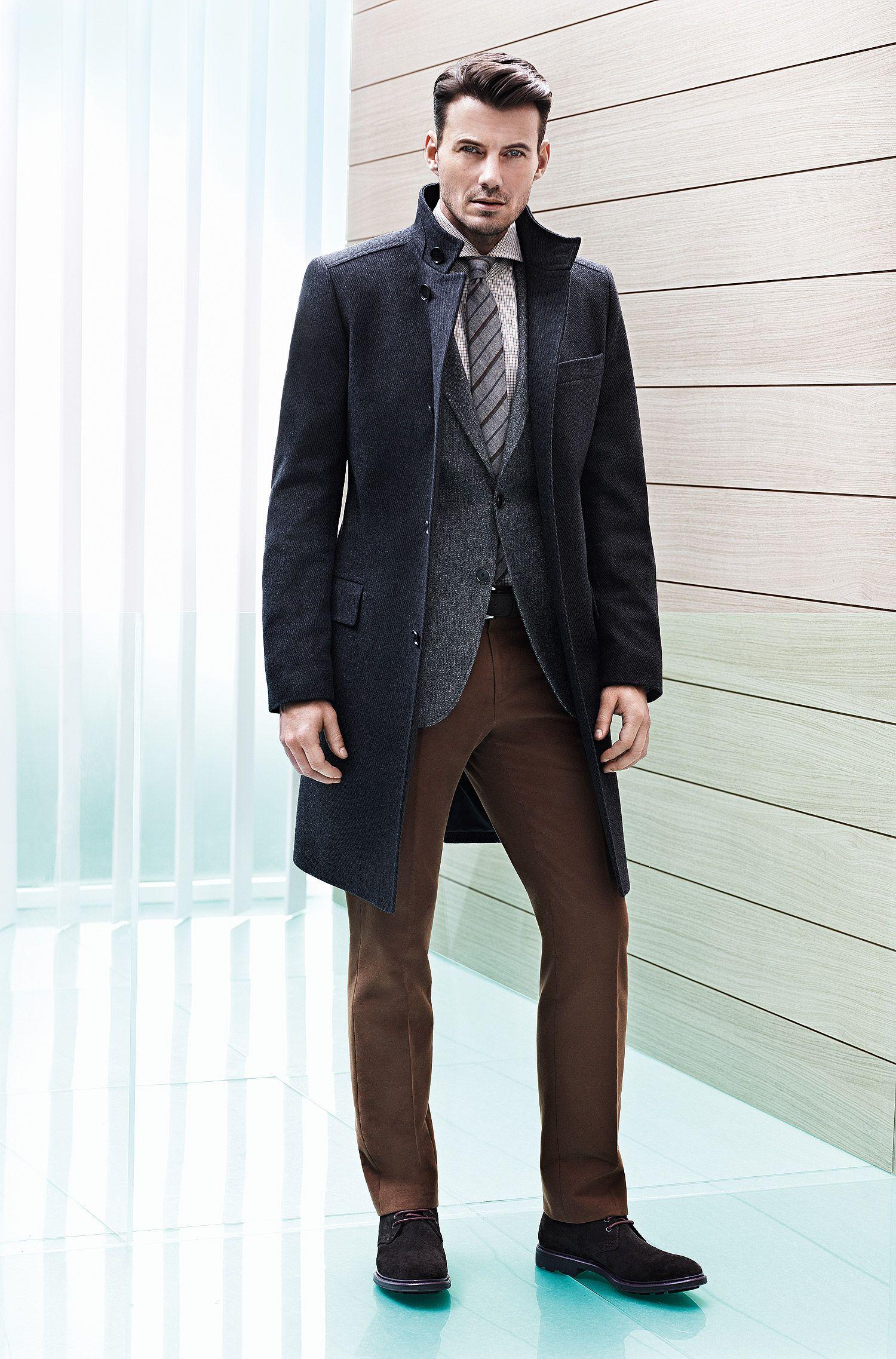 Krawatte ´Tie 6 cm` aus Wollkomposition