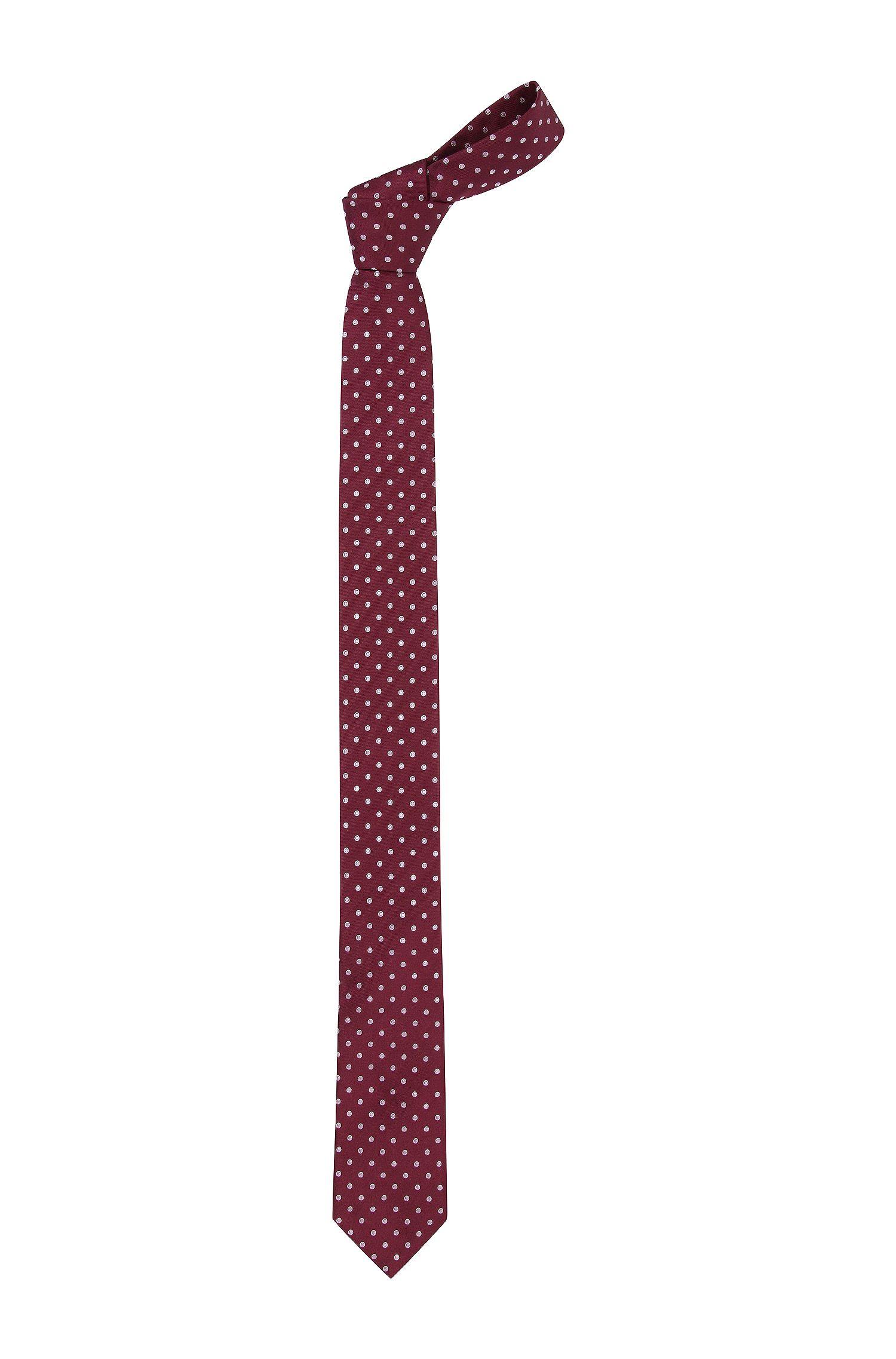 Cravate en acétate mélangée, Tie 6 cm