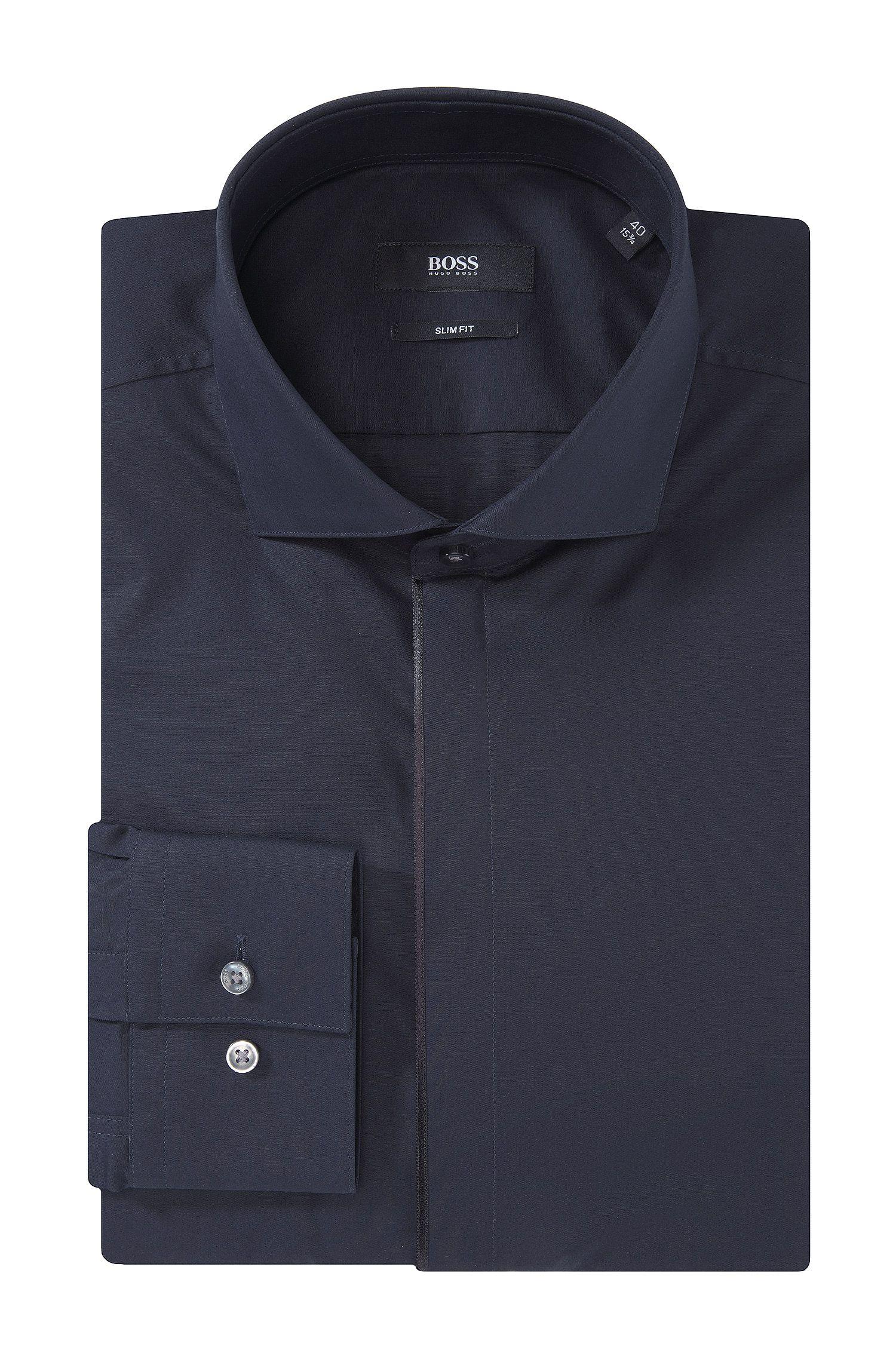 Slim-Fit Business-Hemd ´Jamison` aus Baumwolle