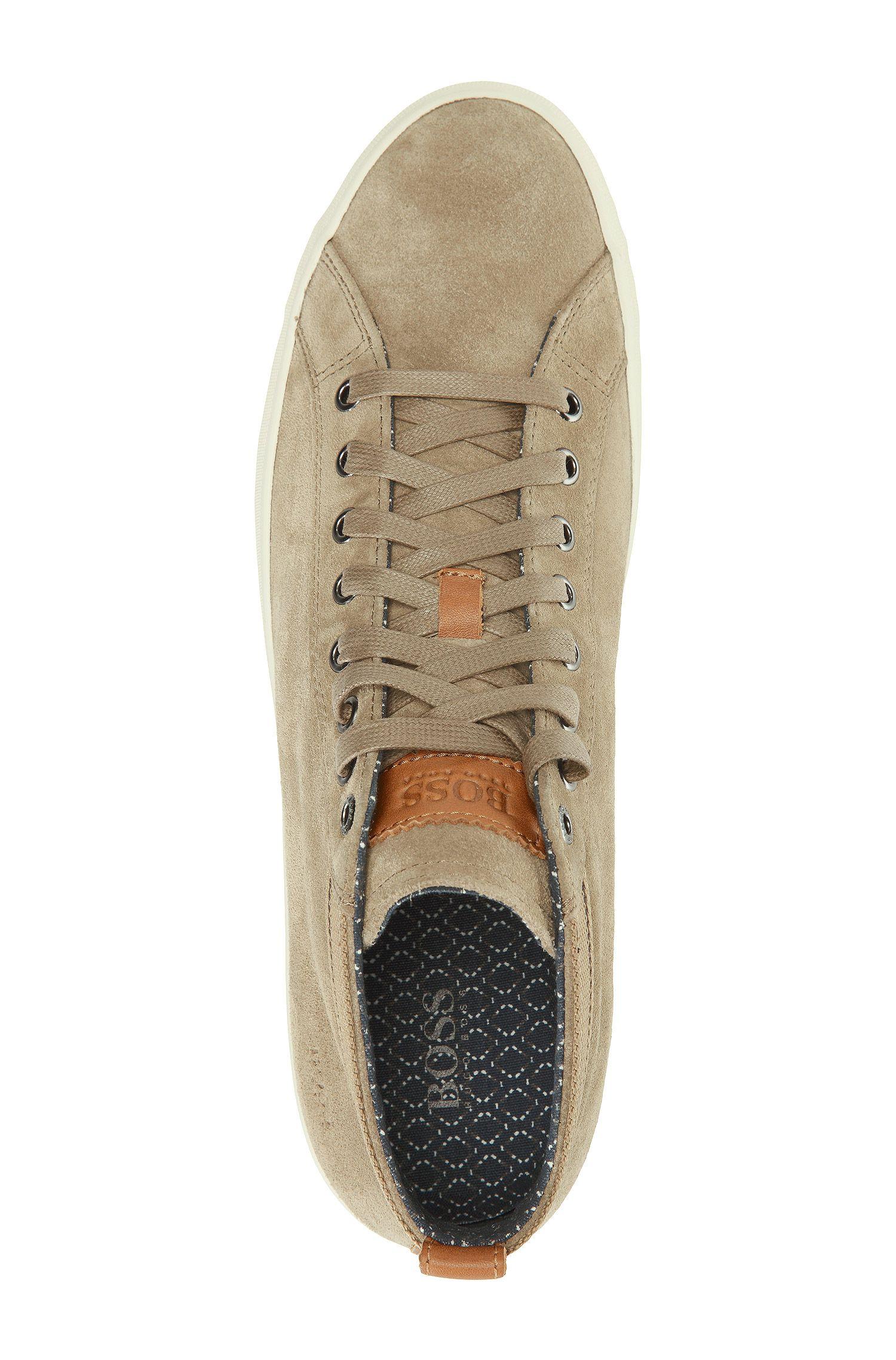 Chaussures sneaker «Bakkon» en cuir velours