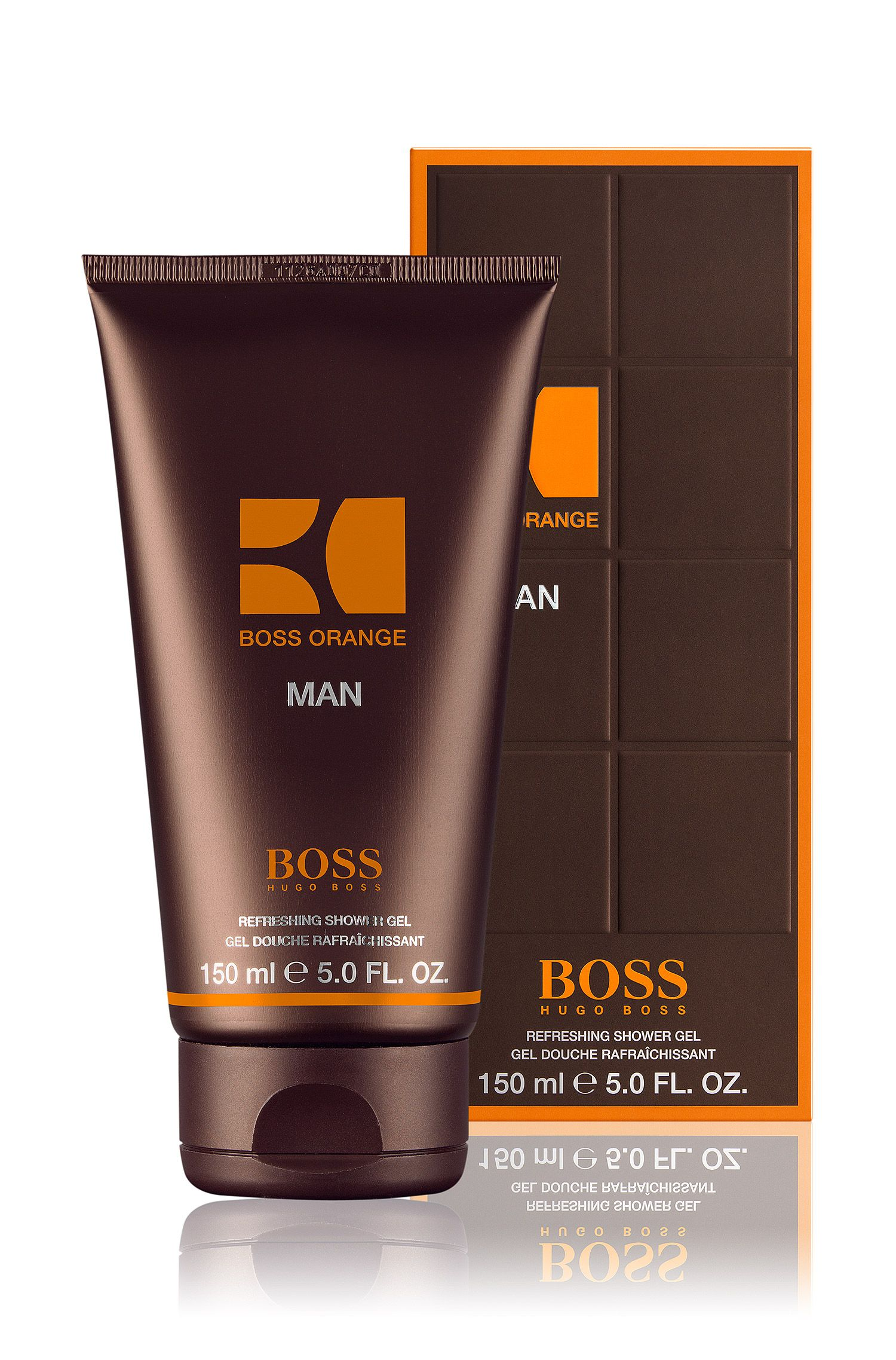 BOSS Orange Man, gel douche 150 ml U/C