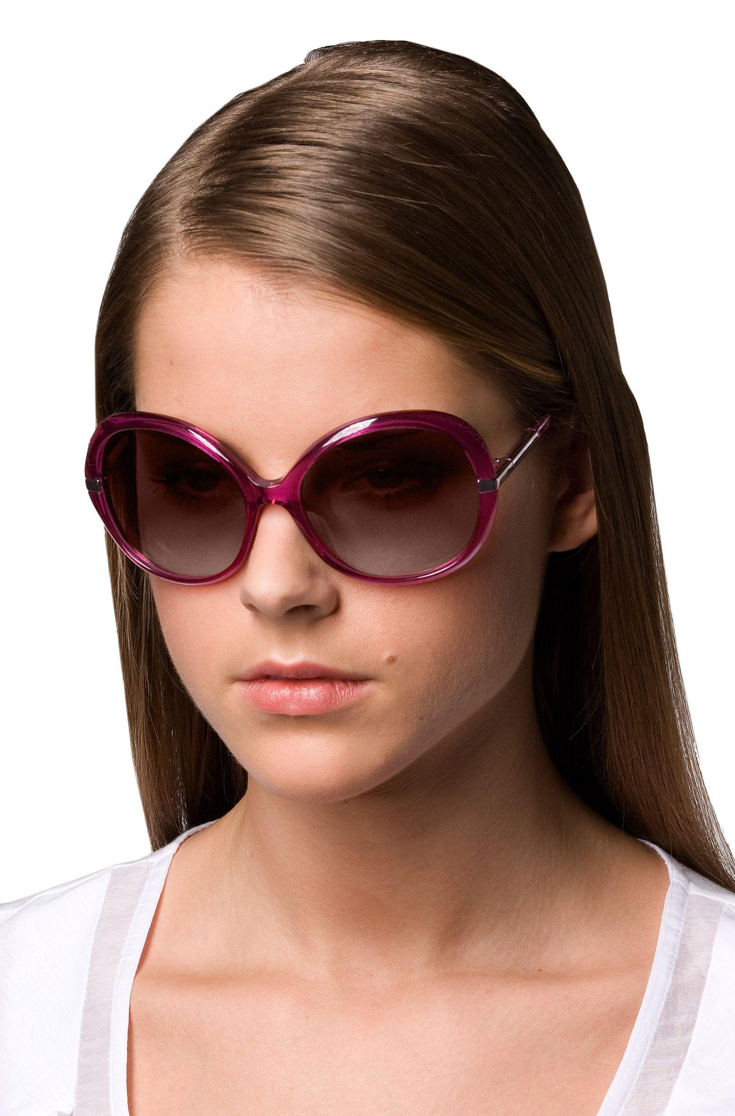 Damensonnenbrille im Stil der 70er
