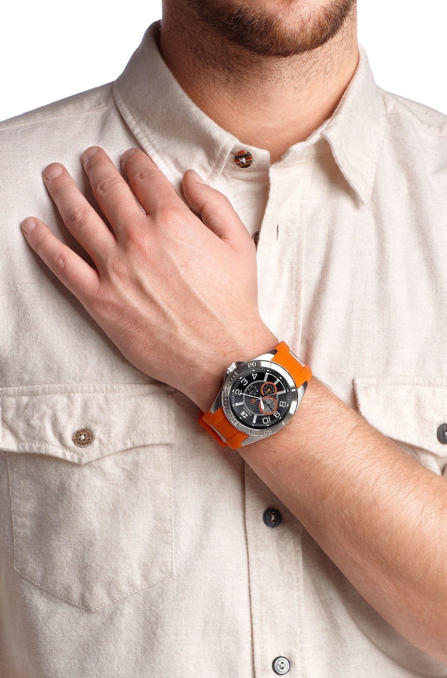 Armbanduhr ´HO 2310` mit Silikonarmband