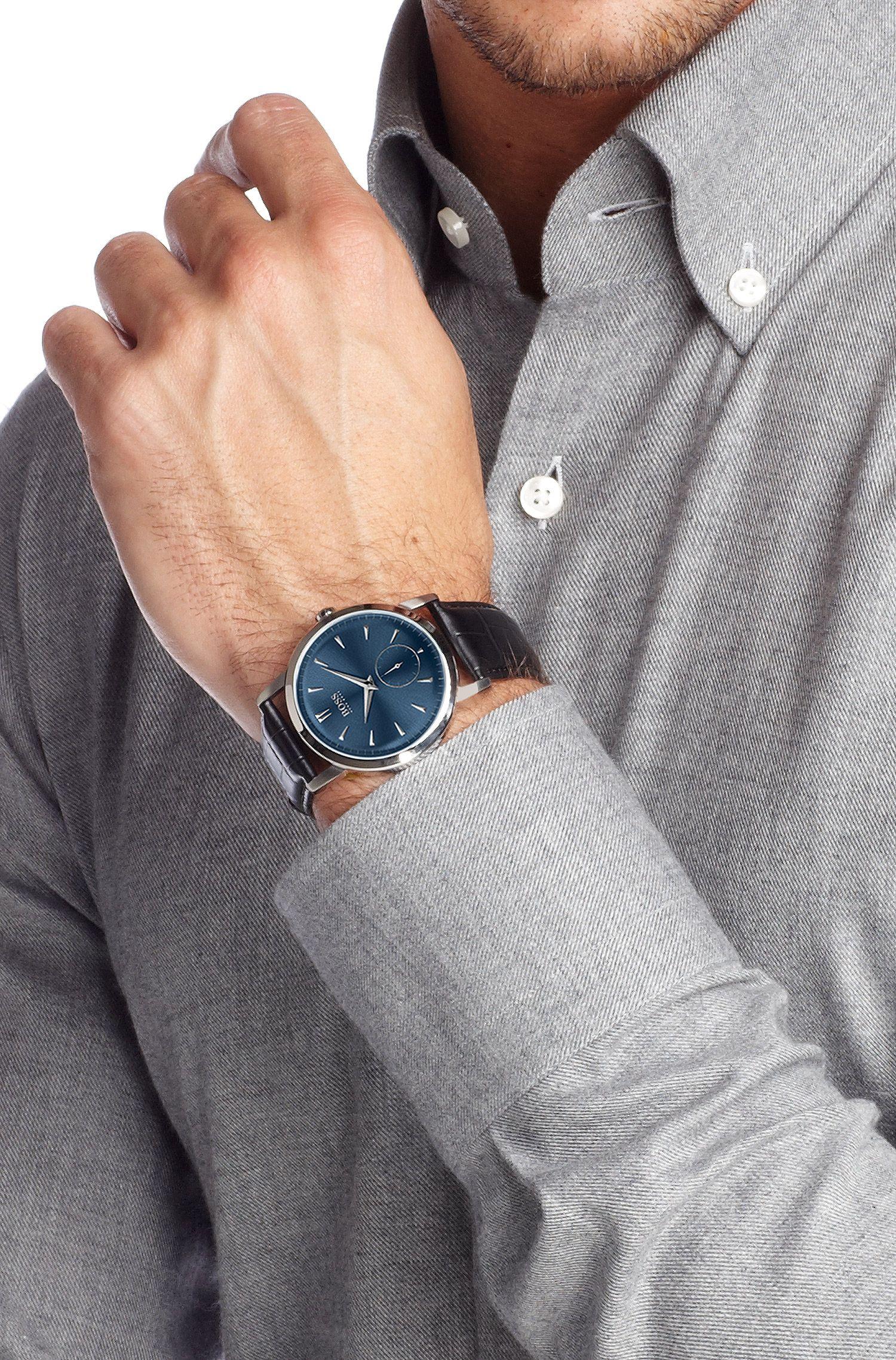 Montre-bracelet en acier inoxydable, HB 1013
