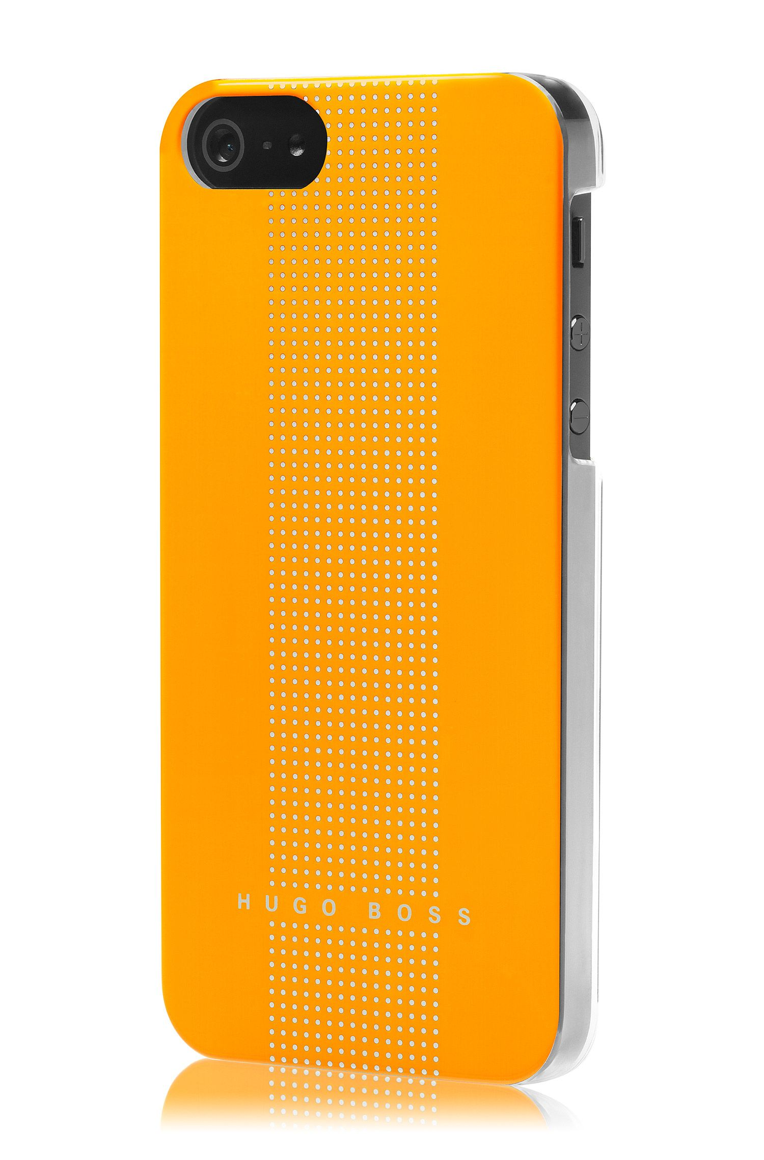Hard Cover ´DOTS YELLOW V` für iPhone 5