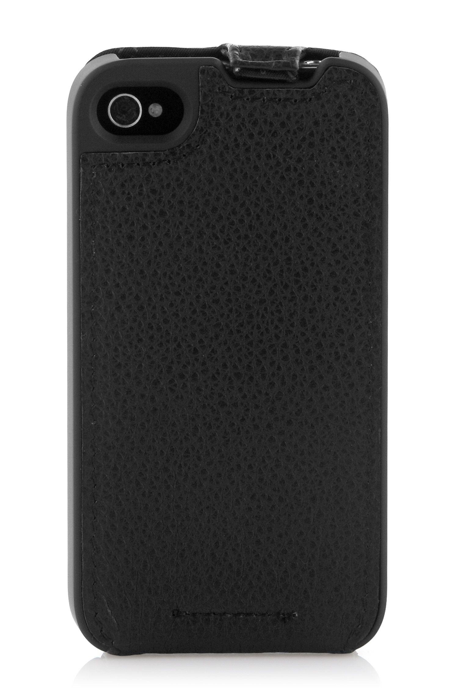 Leder-Flipcase ´REFLEX` für iPhone 4/4S