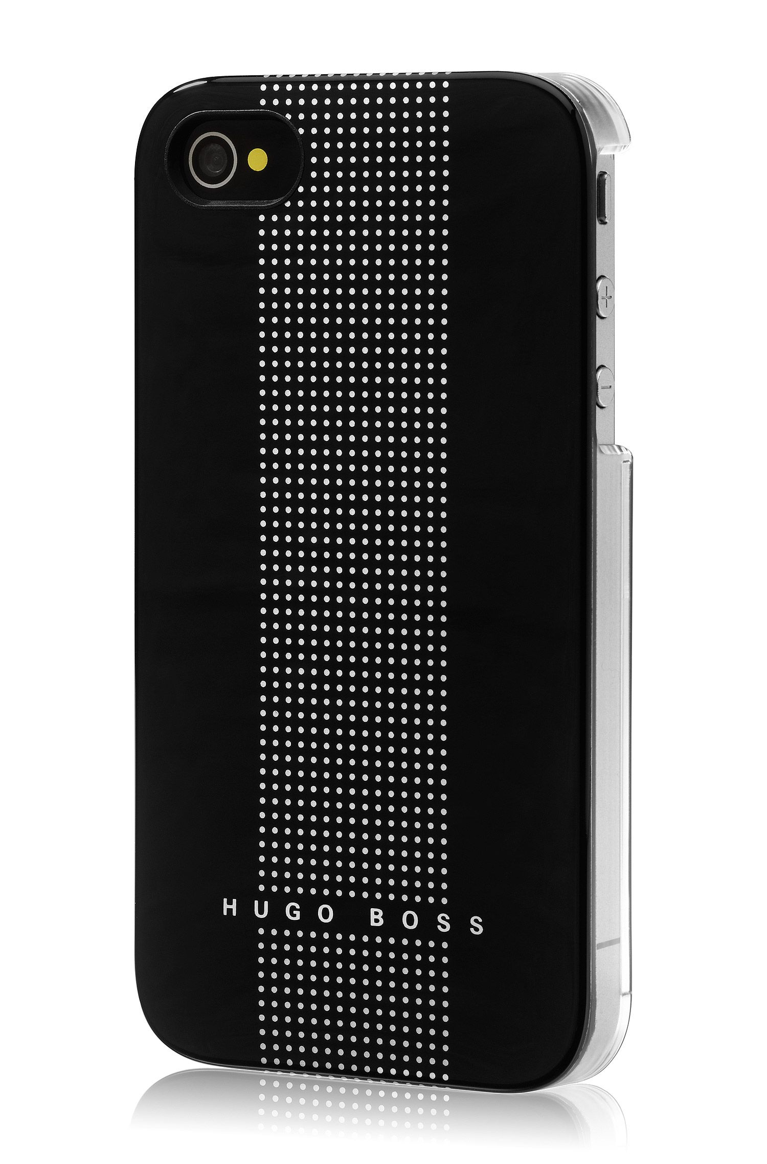 Coque rigide pour iPhone 4/4S, Dots Black
