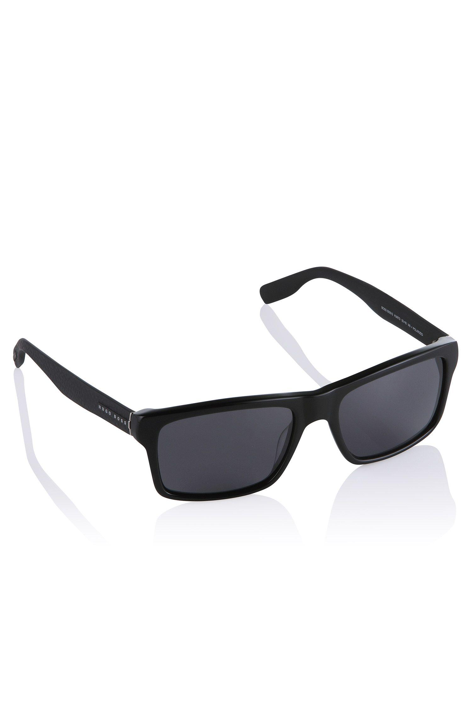 Piloten-Sonnenbrille ´BOSS 0509/S` mit Leder
