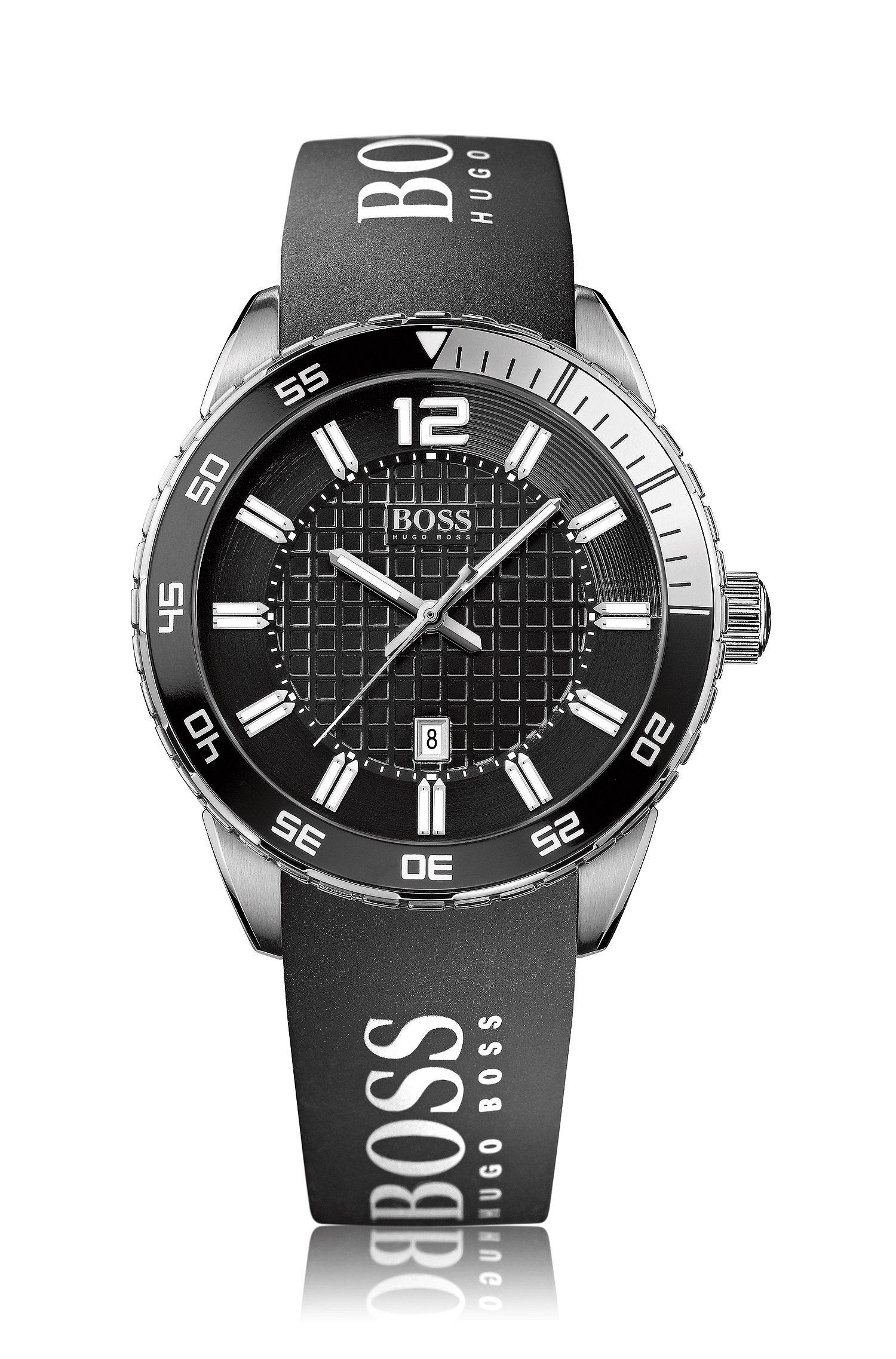Herenhorloge 'HB6013' met siliconen band