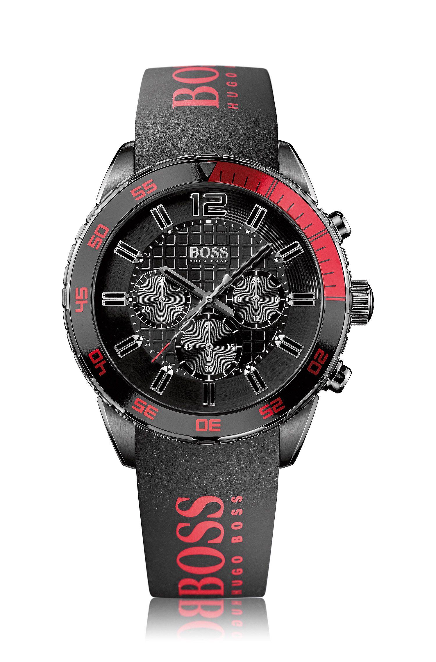 Montre pour homme«HB2033» avec bracelet en silicone