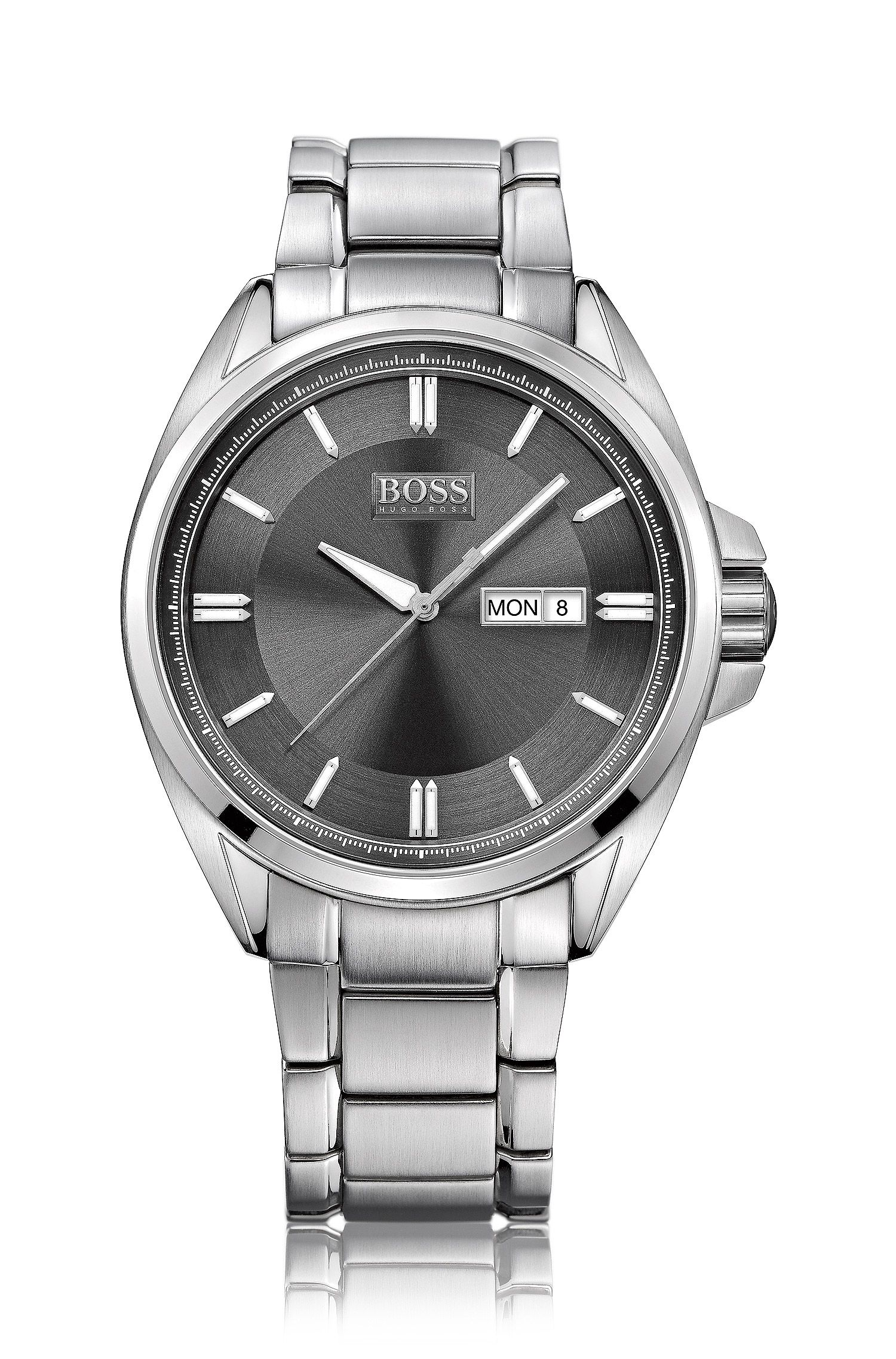 Herren-Armbanduhr ´HB301` aus Edelstahl