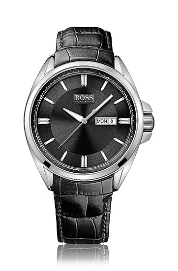 Herren-Armbanduhr ´HB301` mit Edelstahlgehäuse, Assorted-Pre-Pack