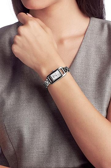 Montre-bracelet pour femme«HB304» en acier inoxydable, Assorted-Pre-Pack